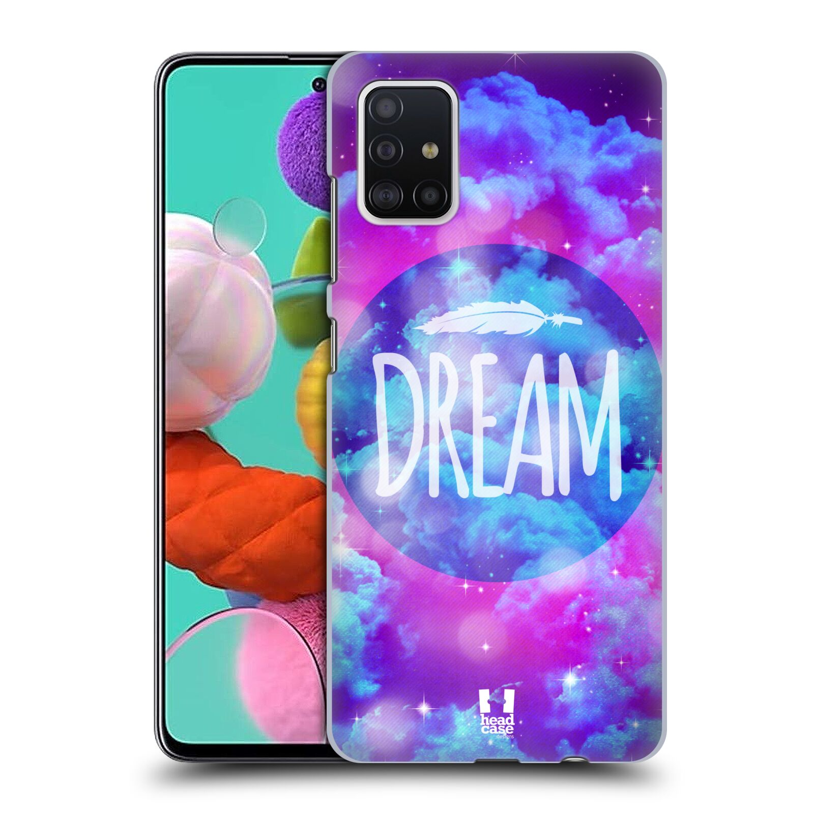 Plastové pouzdro na mobil Samsung Galaxy A51 - Head Case - CHROMATIC DREAM