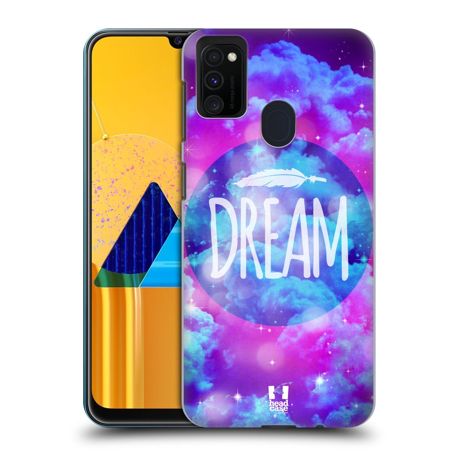 Plastové pouzdro na mobil Samsung Galaxy M21 - Head Case - CHROMATIC DREAM