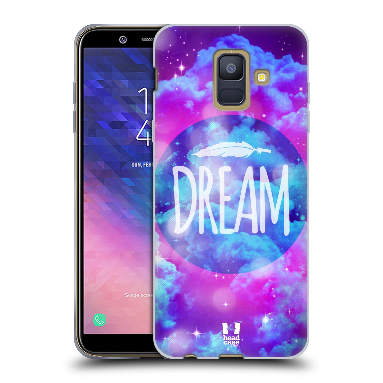 Silikonové pouzdro na mobil Samsung Galaxy A6 (2018) - Head Case - CHROMATIC DREAM