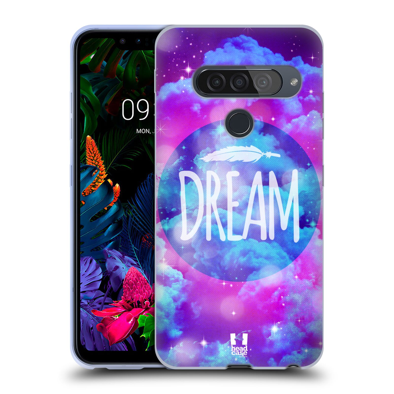 Silikonové pouzdro na mobil LG G8s ThinQ - Head Case - CHROMATIC DREAM