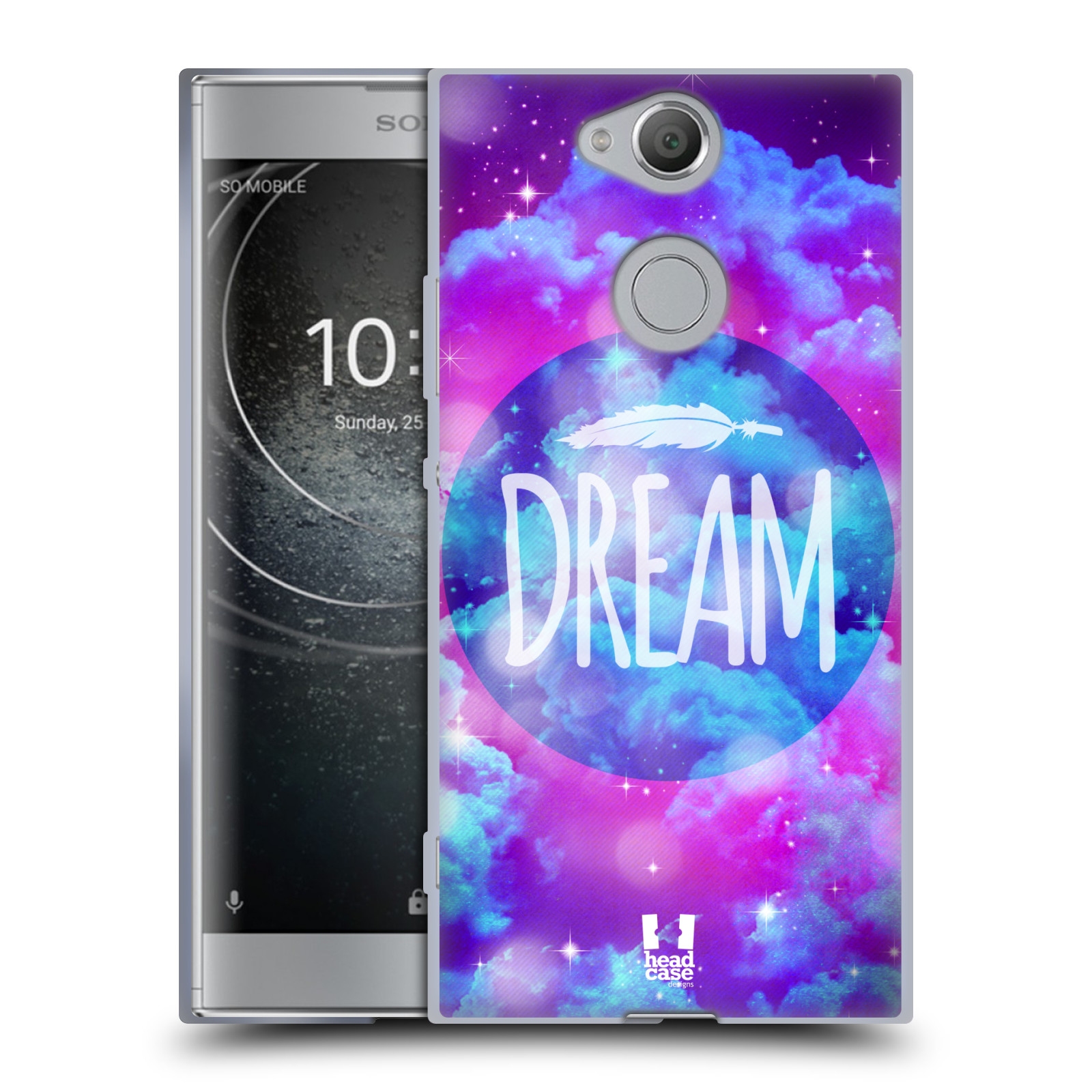 Silikonové pouzdro na mobil Sony Xperia XA2 - Head Case - CHROMATIC DREAM