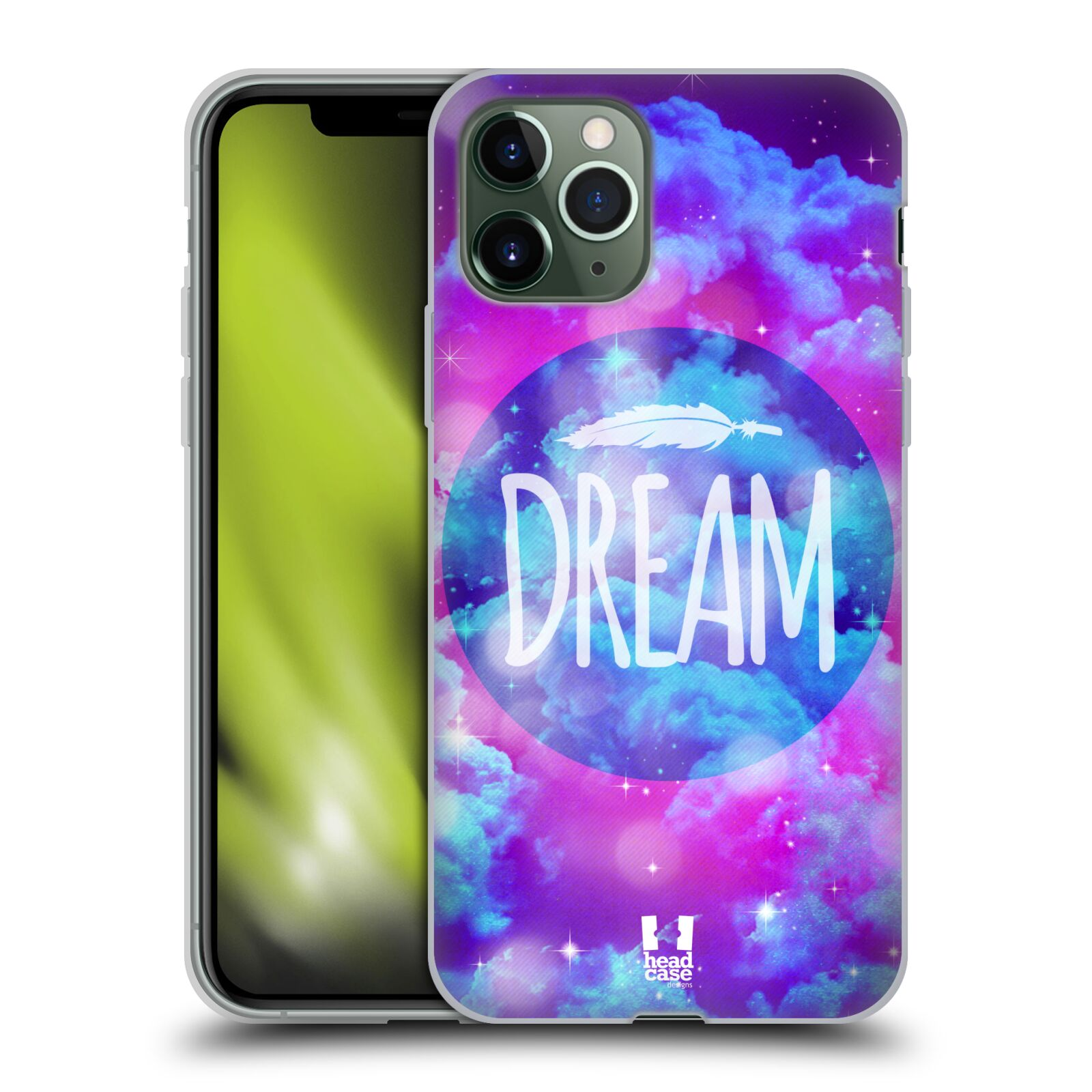 gucci iphone x leather case - Silikonové pouzdro na mobil Apple iPhone 11 Pro - Head Case - CHROMATIC DREAM