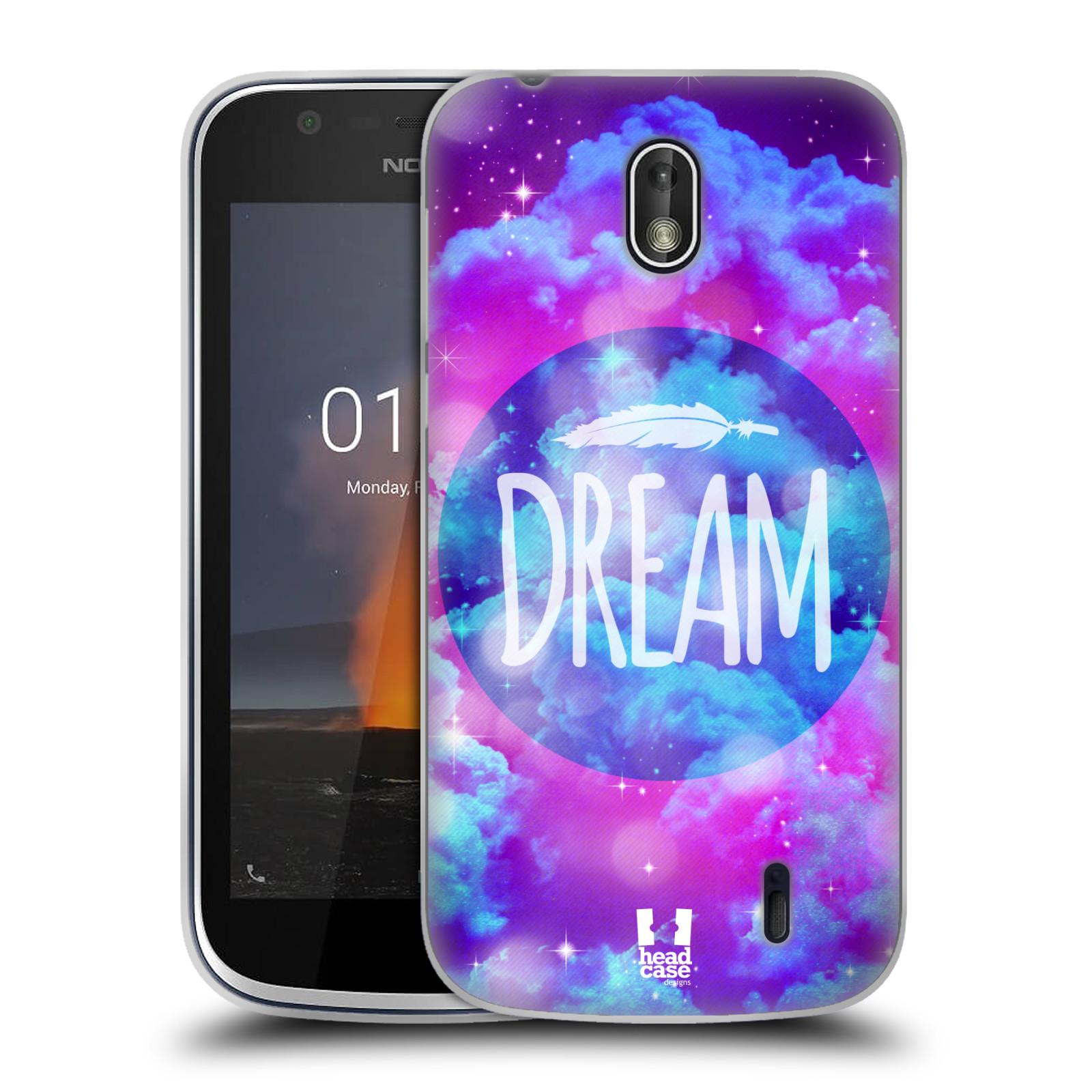 Silikonové pouzdro na mobil Nokia 1 - Head Case - CHROMATIC DREAM
