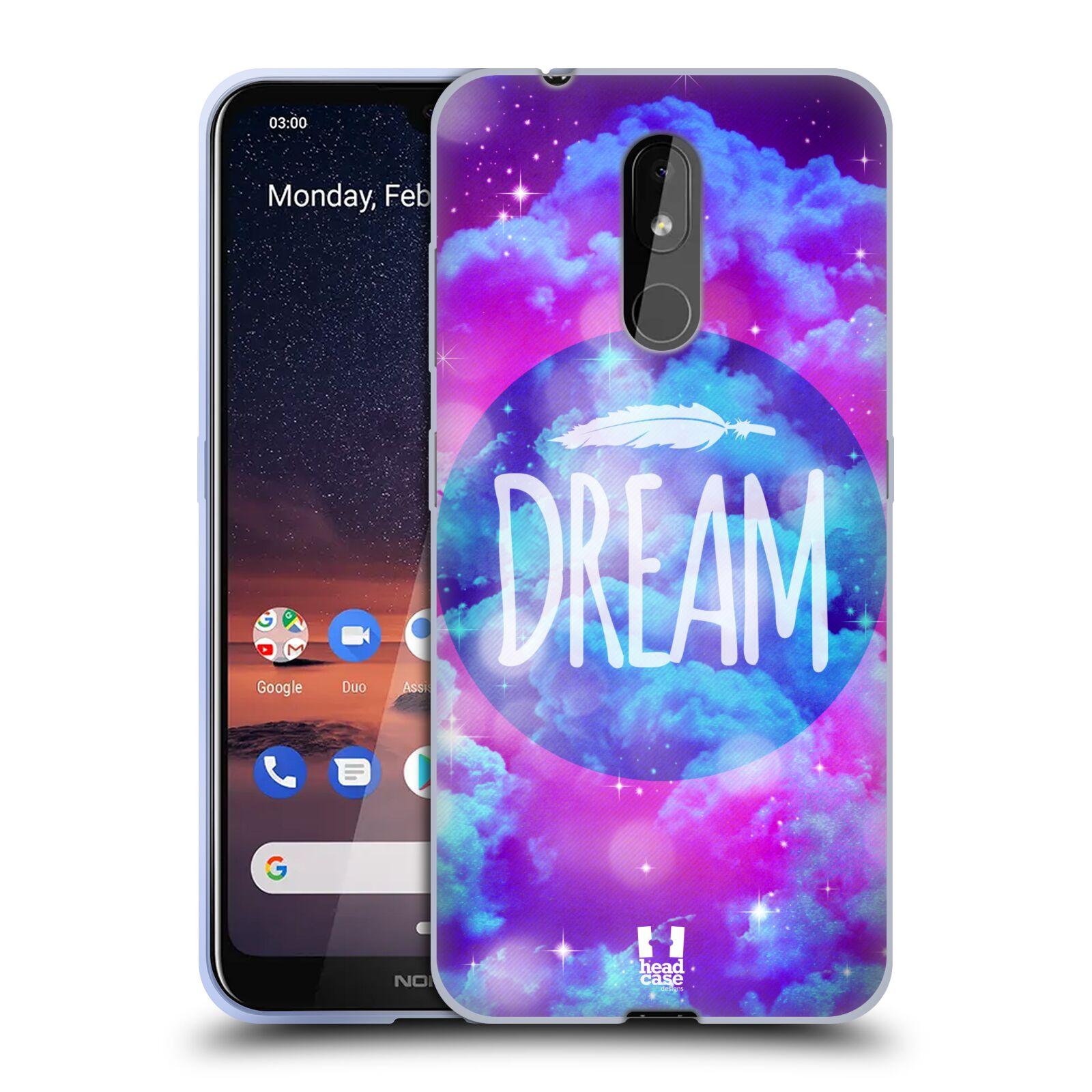 Silikonové pouzdro na mobil Nokia 3.2 - Head Case - CHROMATIC DREAM