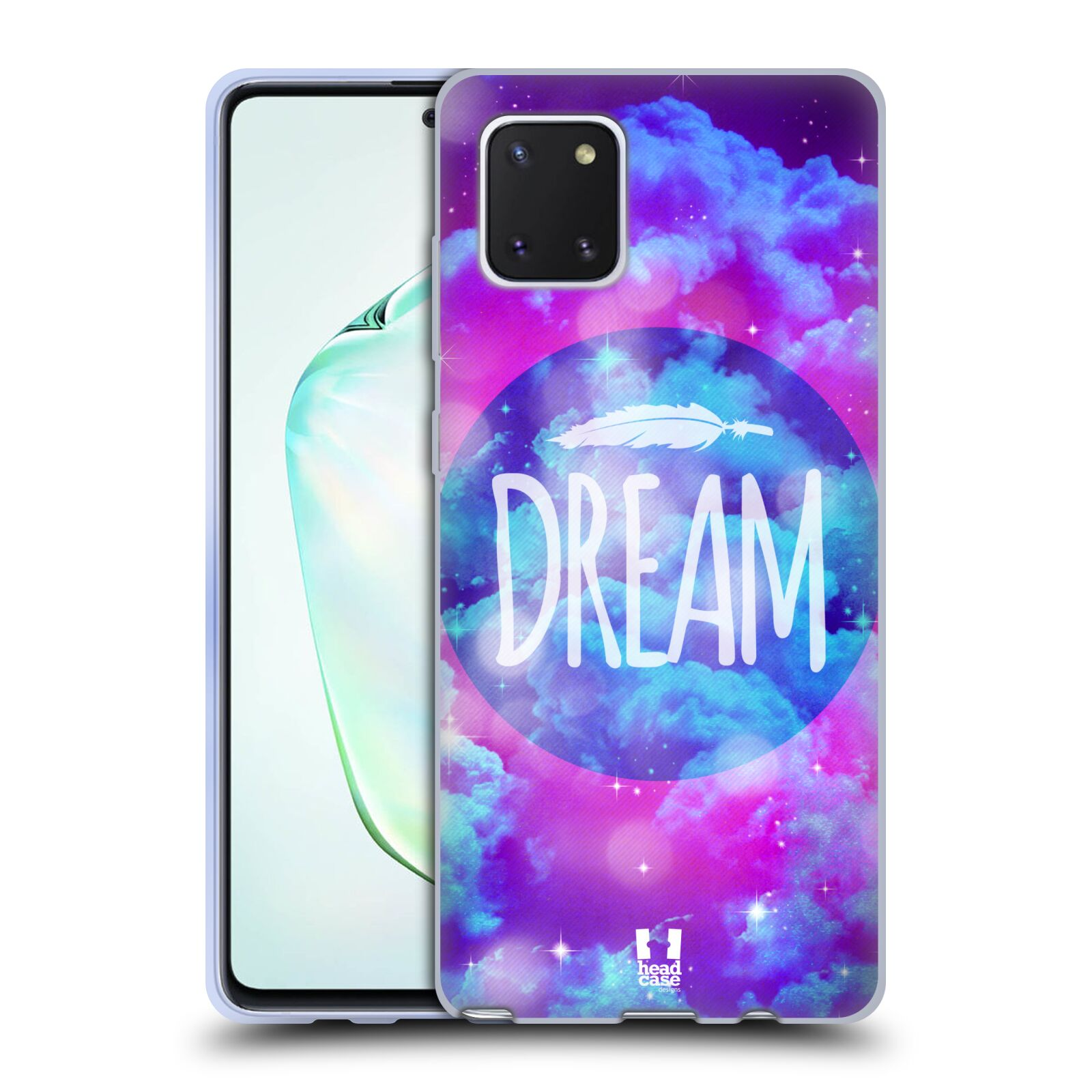 Silikonové pouzdro na mobil Samsung Galaxy Note 10 Lite - Head Case - CHROMATIC DREAM