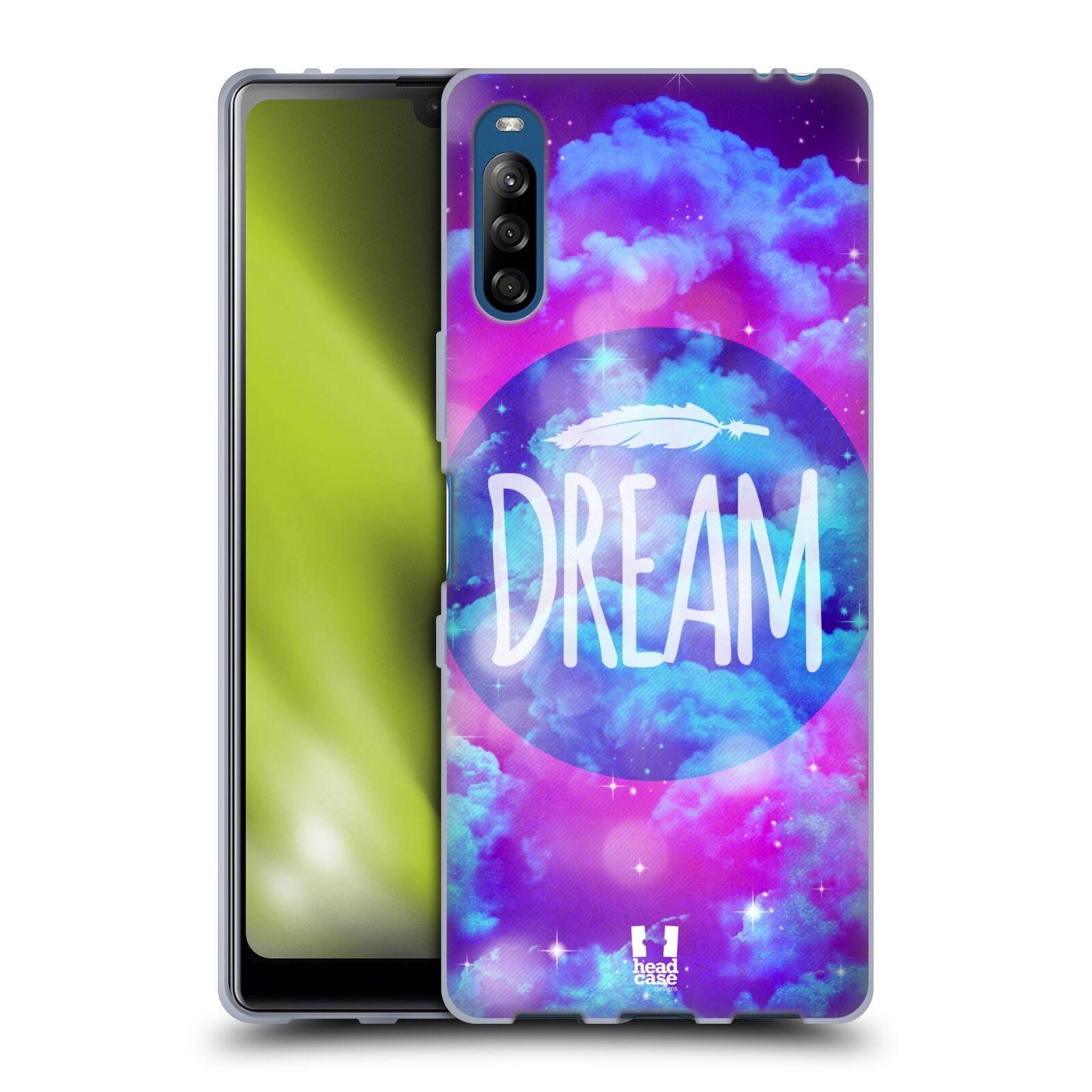 Silikonové pouzdro na mobil Sony Xperia L4 - Head Case - CHROMATIC DREAM