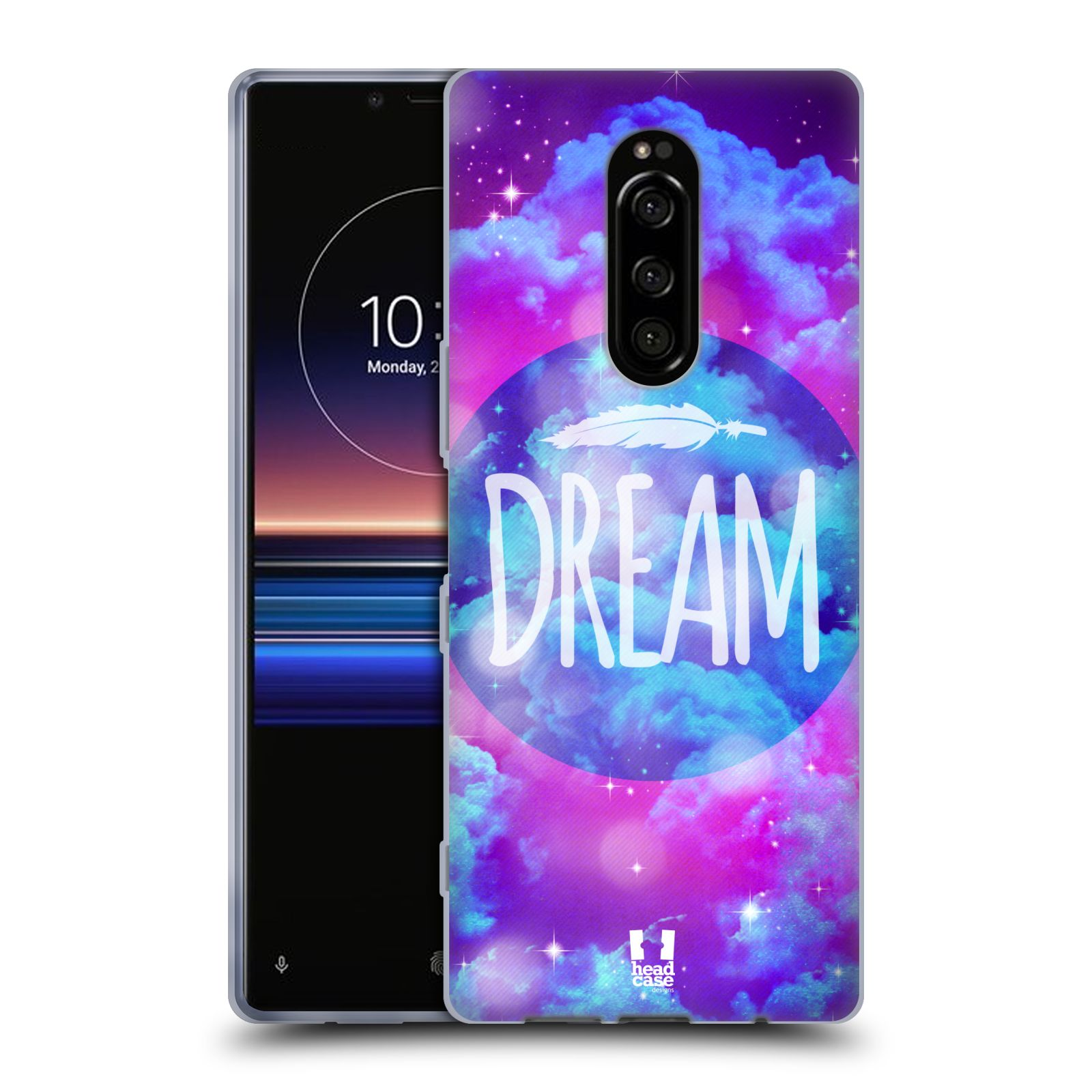 Silikonové pouzdro na mobil Sony Xperia 1 - Head Case - CHROMATIC DREAM