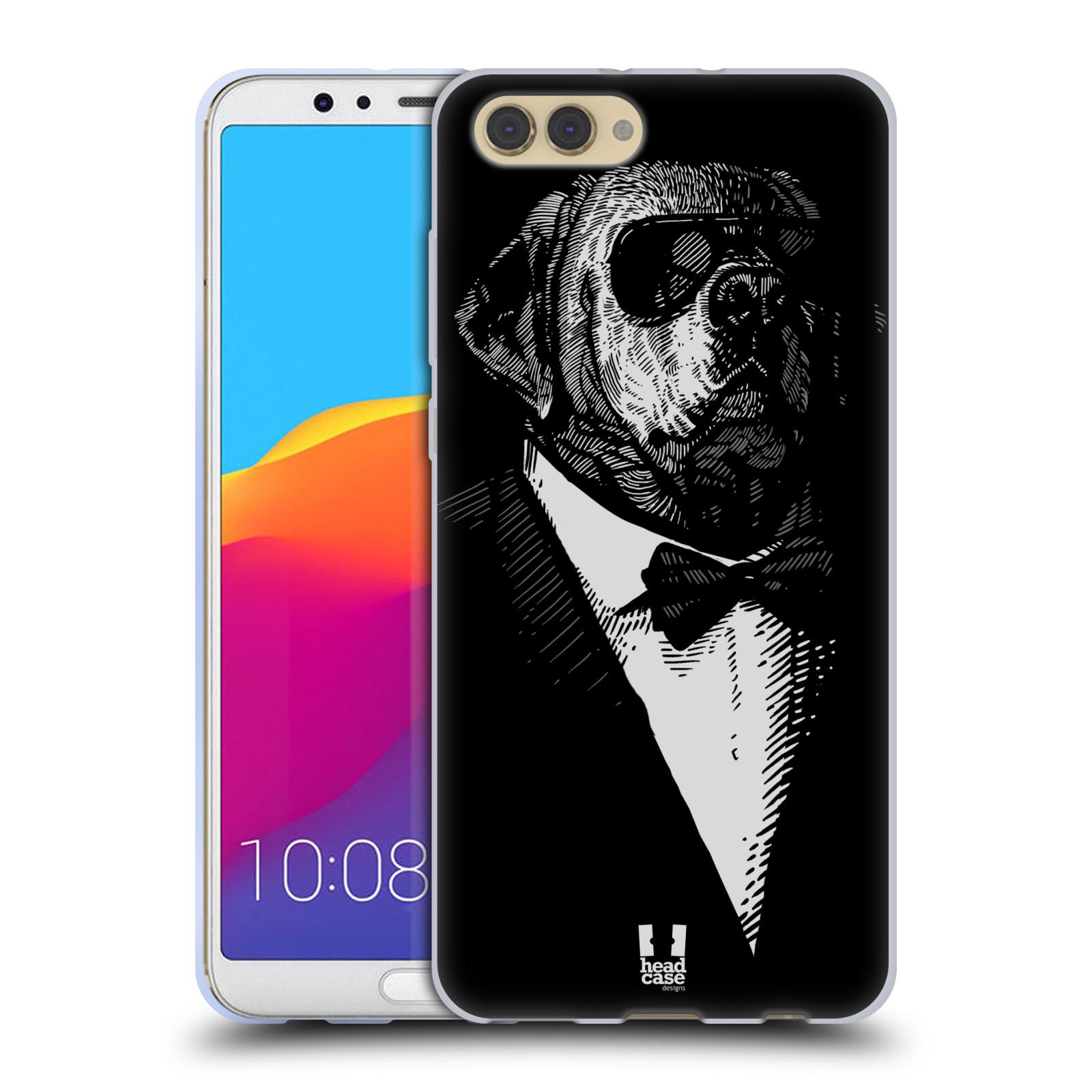 Silikonové pouzdro na mobil Honor View 10 - Head Case - PSISKO V KVÁDRU