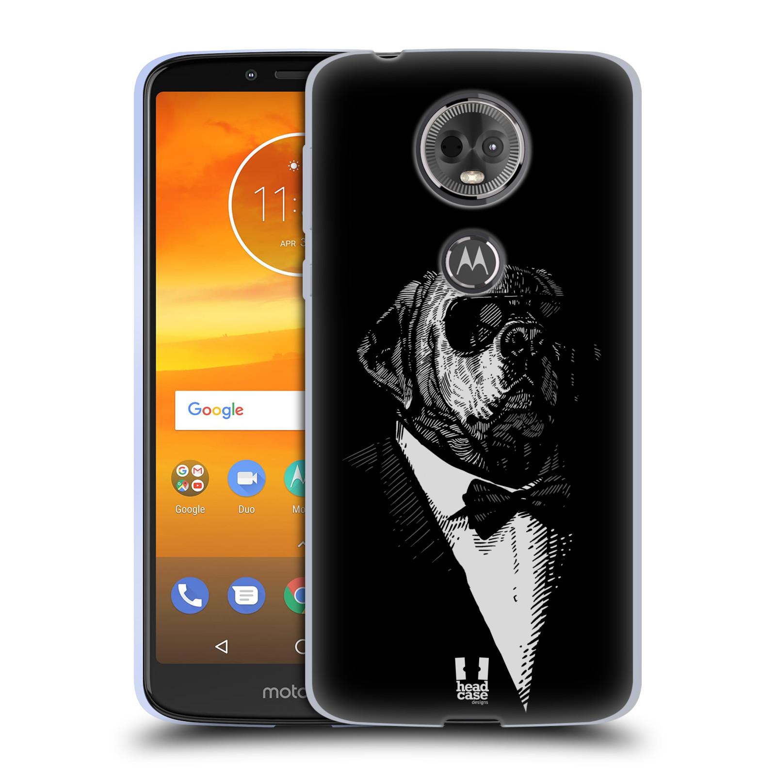 Silikonové pouzdro na mobil Motorola Moto E5 Plus - Head Case - PSISKO V KVÁDRU