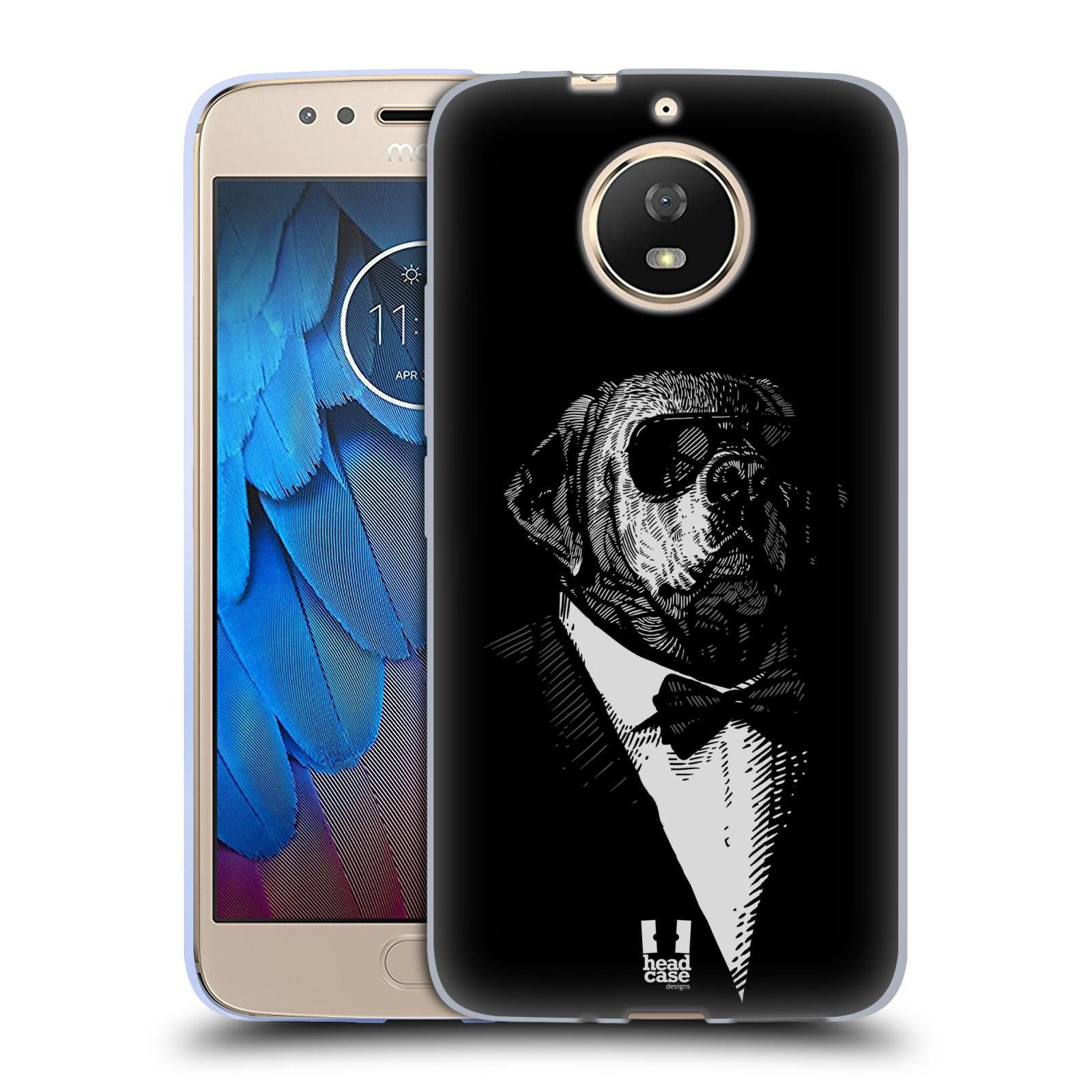 Silikonové pouzdro na mobil Lenovo Moto G5s - Head Case - PSISKO V KVÁDRU