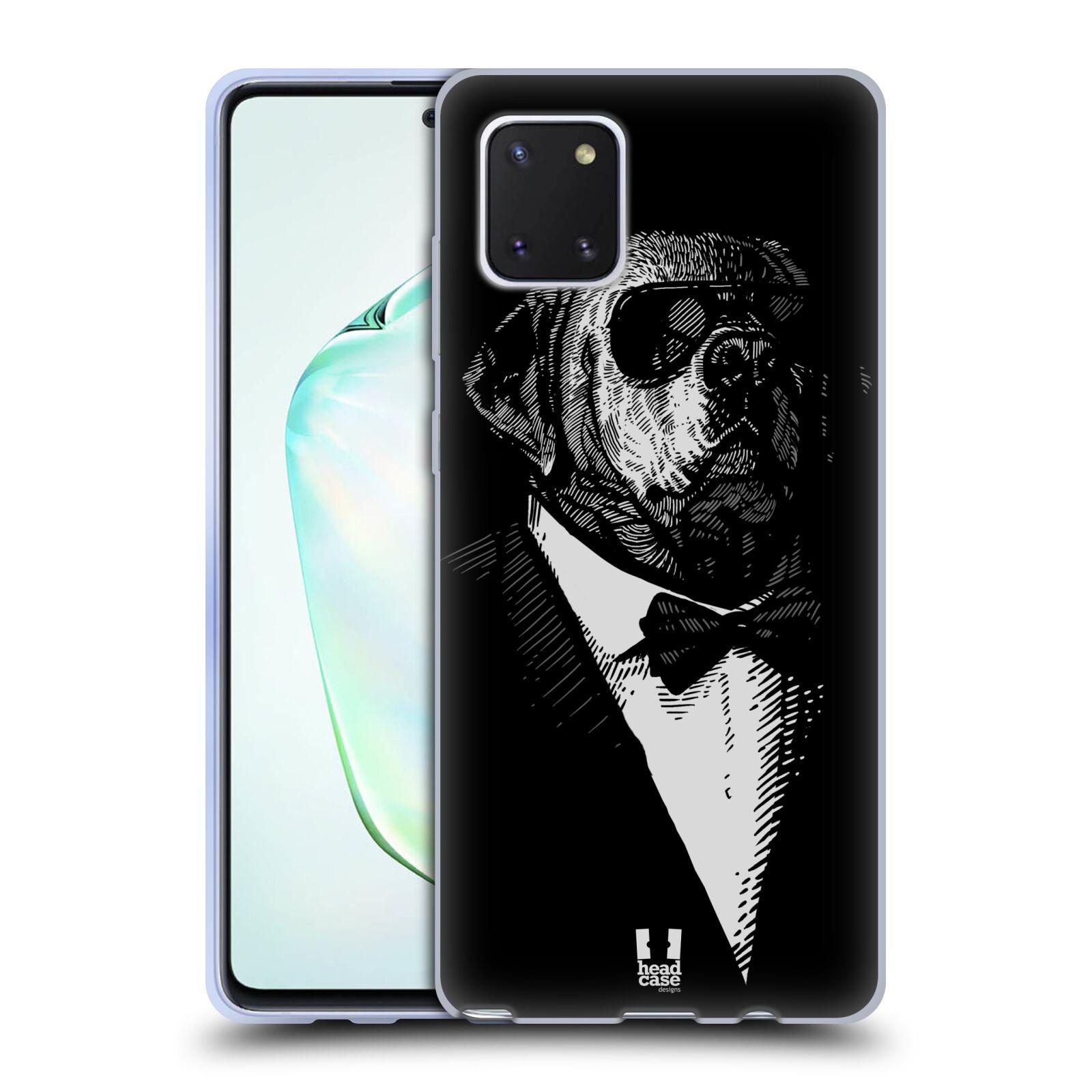 Silikonové pouzdro na mobil Samsung Galaxy Note 10 Lite - Head Case - PSISKO V KVÁDRU