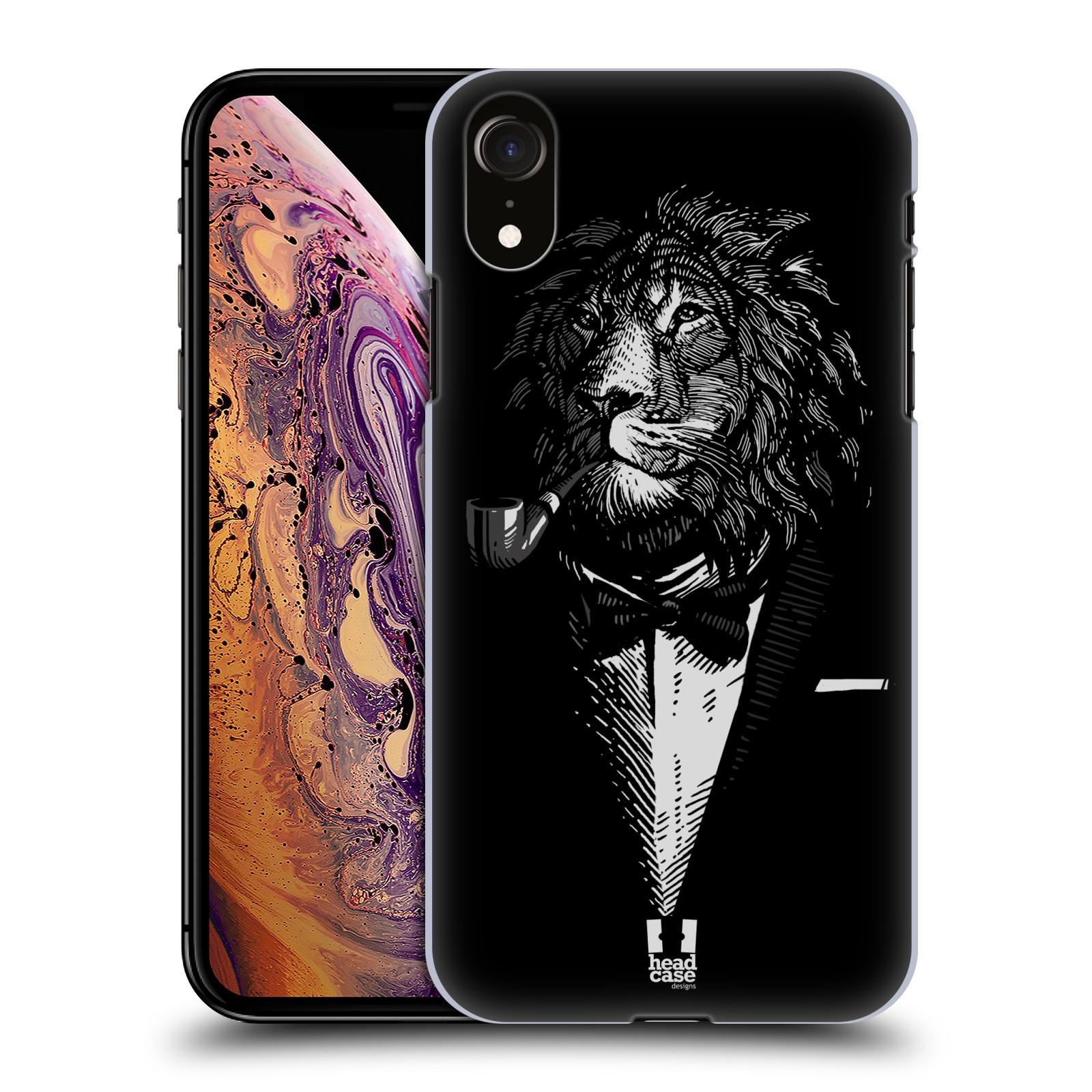 Plastové pouzdro na mobil Apple iPhone XR - Head Case - LEV V KVÁDRU