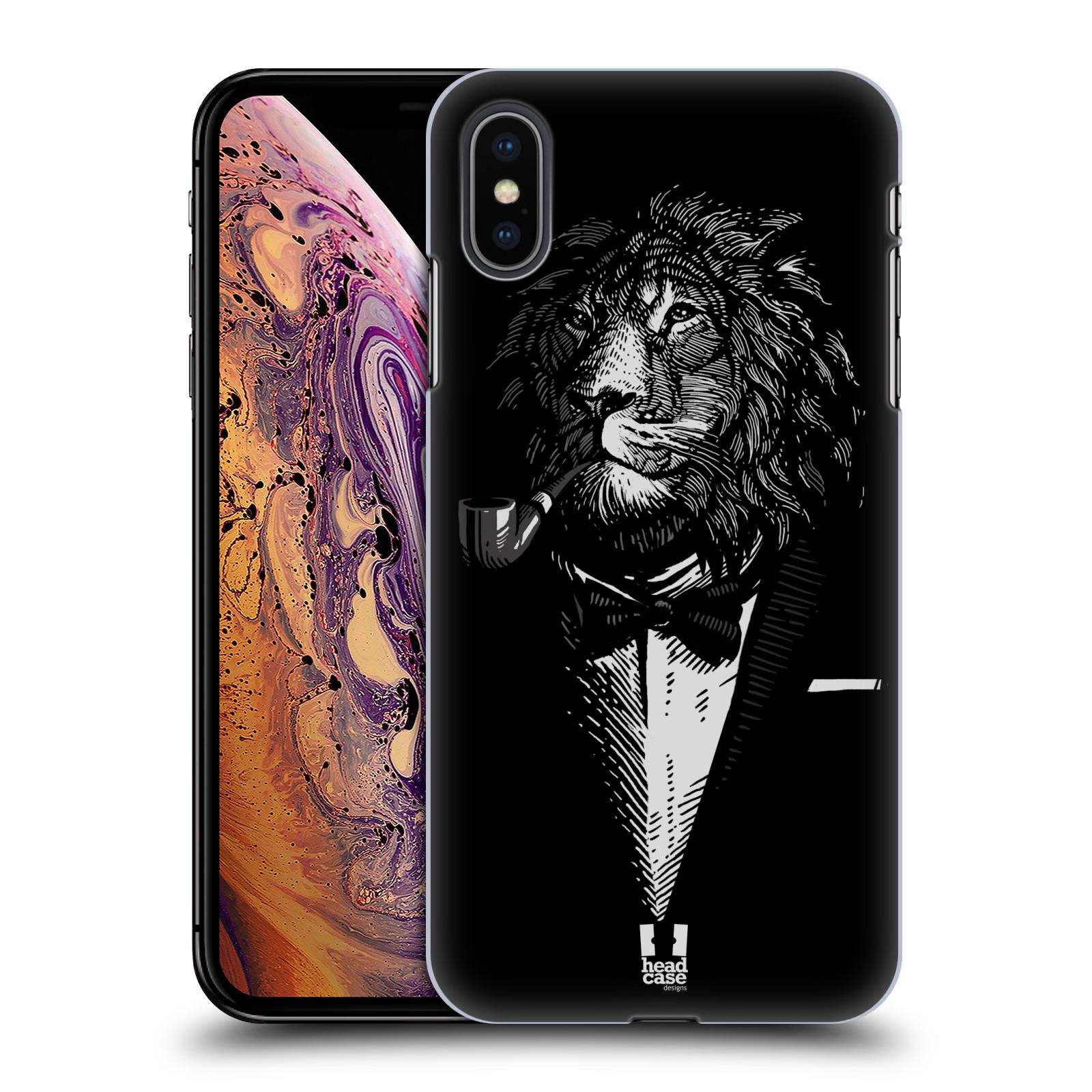 Plastové pouzdro na mobil Apple iPhone XS Max - Head Case - LEV V KVÁDRU