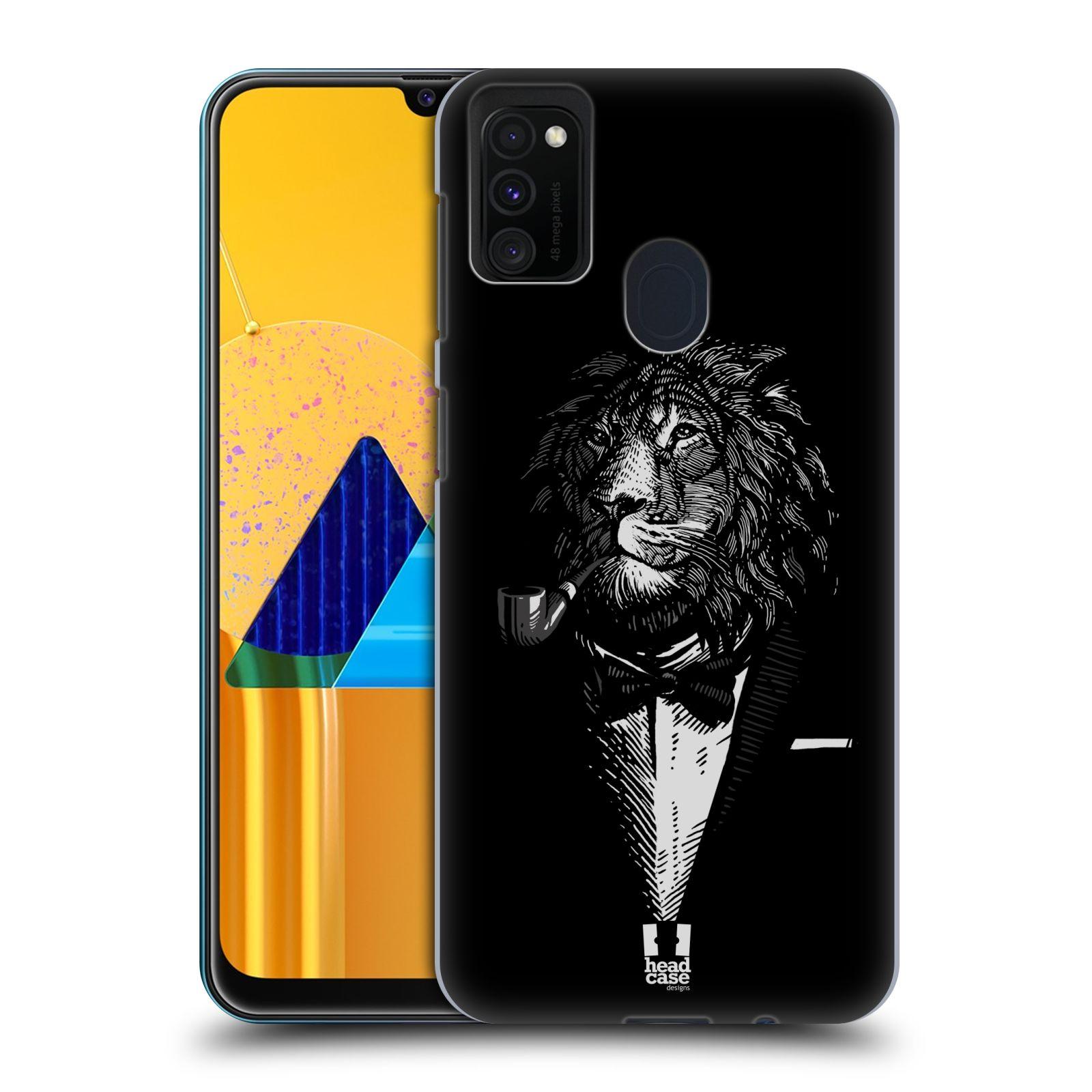 Plastové pouzdro na mobil Samsung Galaxy M21 - Head Case - LEV V KVÁDRU