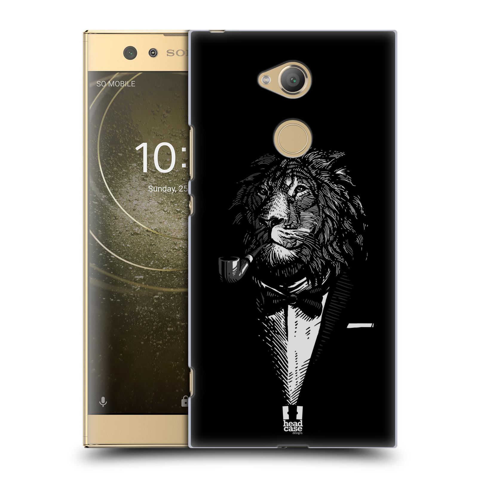 Plastové pouzdro na mobil Sony Xperia XA2 Ultra - Head Case - LEV V KVÁDRU