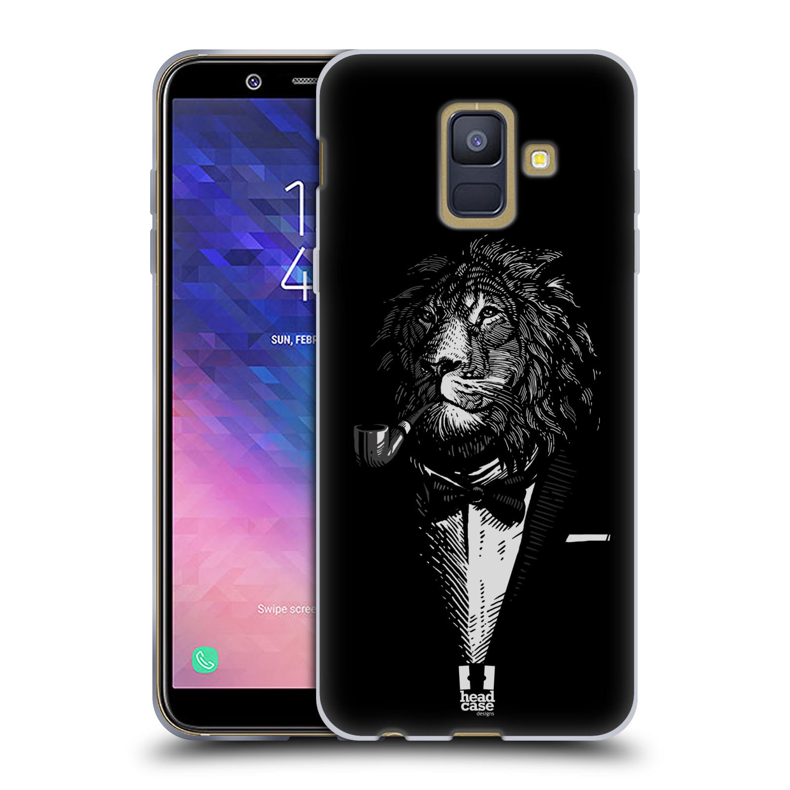 Silikonové pouzdro na mobil Samsung Galaxy A6 (2018) - Head Case - LEV V KVÁDRU