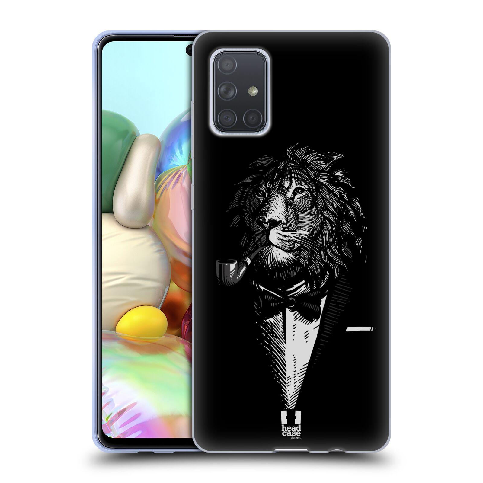 Silikonové pouzdro na mobil Samsung Galaxy A71 - Head Case - LEV V KVÁDRU