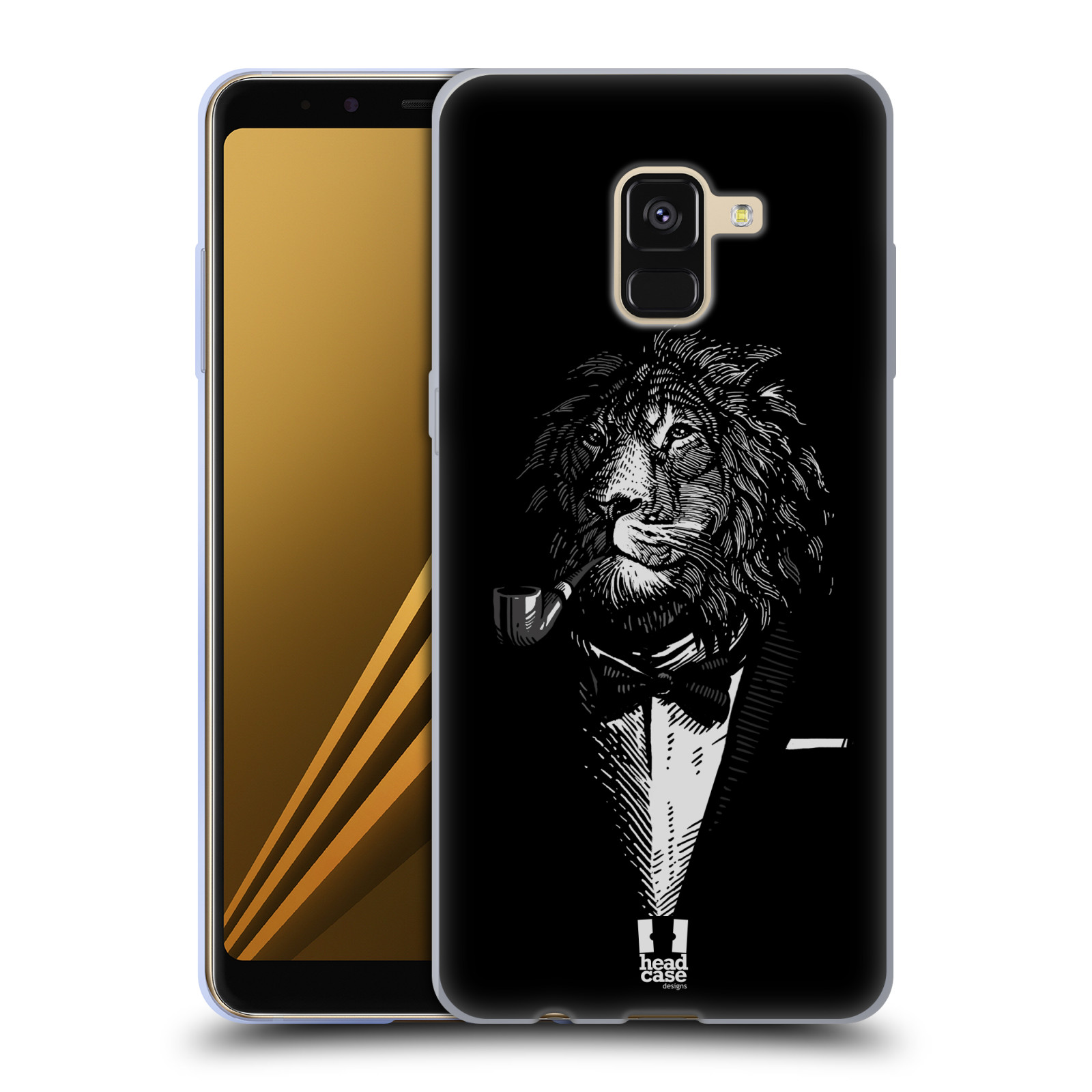 Silikonové pouzdro na mobil Samsung Galaxy A8 (2018) - Head Case - LEV V KVÁDRU