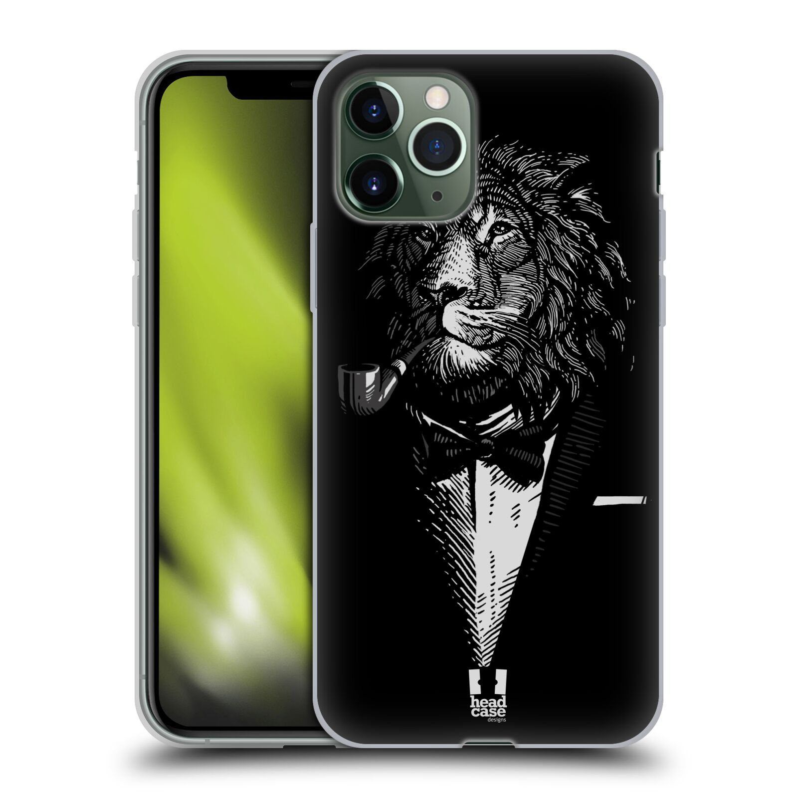 gucci iphone x case - Silikonové pouzdro na mobil Apple iPhone 11 Pro - Head Case - LEV V KVÁDRU
