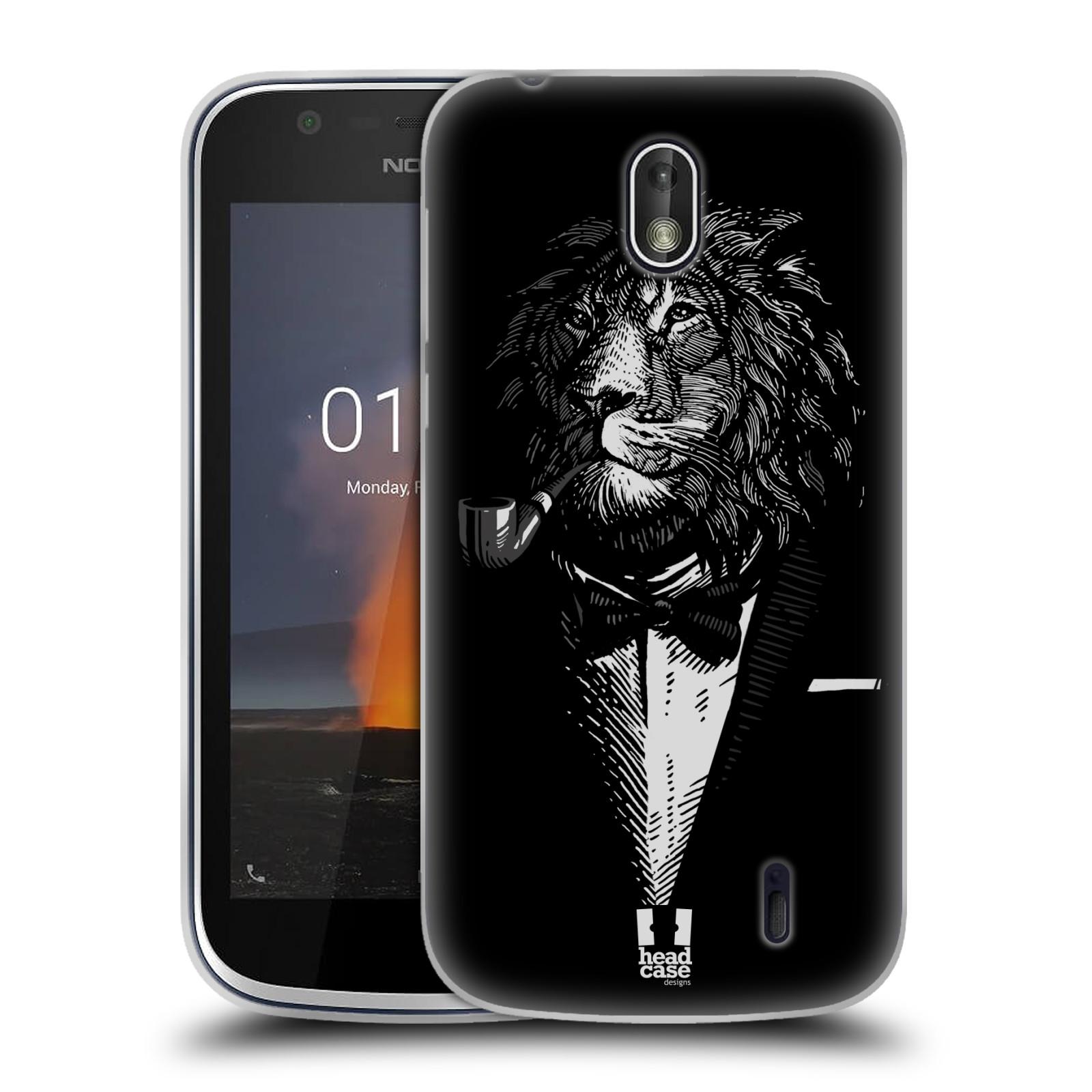Silikonové pouzdro na mobil Nokia 1 - Head Case - LEV V KVÁDRU