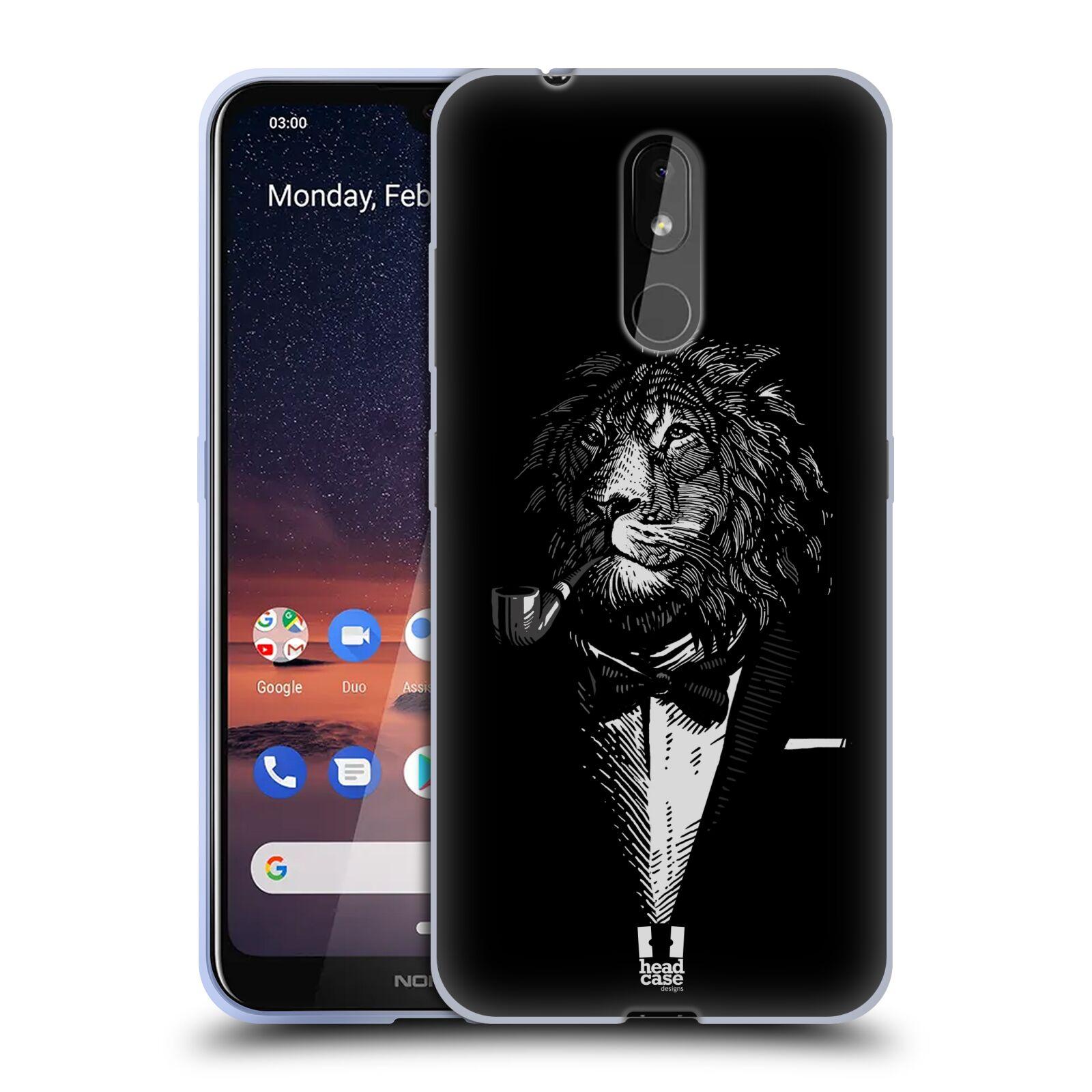 Silikonové pouzdro na mobil Nokia 3.2 - Head Case - LEV V KVÁDRU