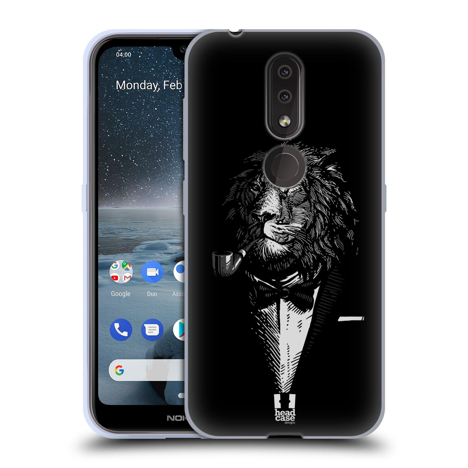 Silikonové pouzdro na mobil Nokia 4.2 - Head Case - LEV V KVÁDRU