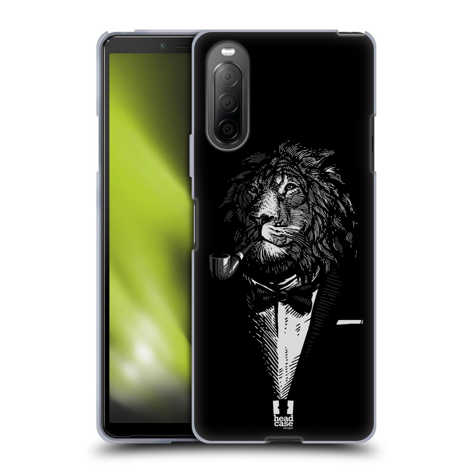 Silikonové pouzdro na mobil Sony Xperia 10 II - Head Case - LEV V KVÁDRU