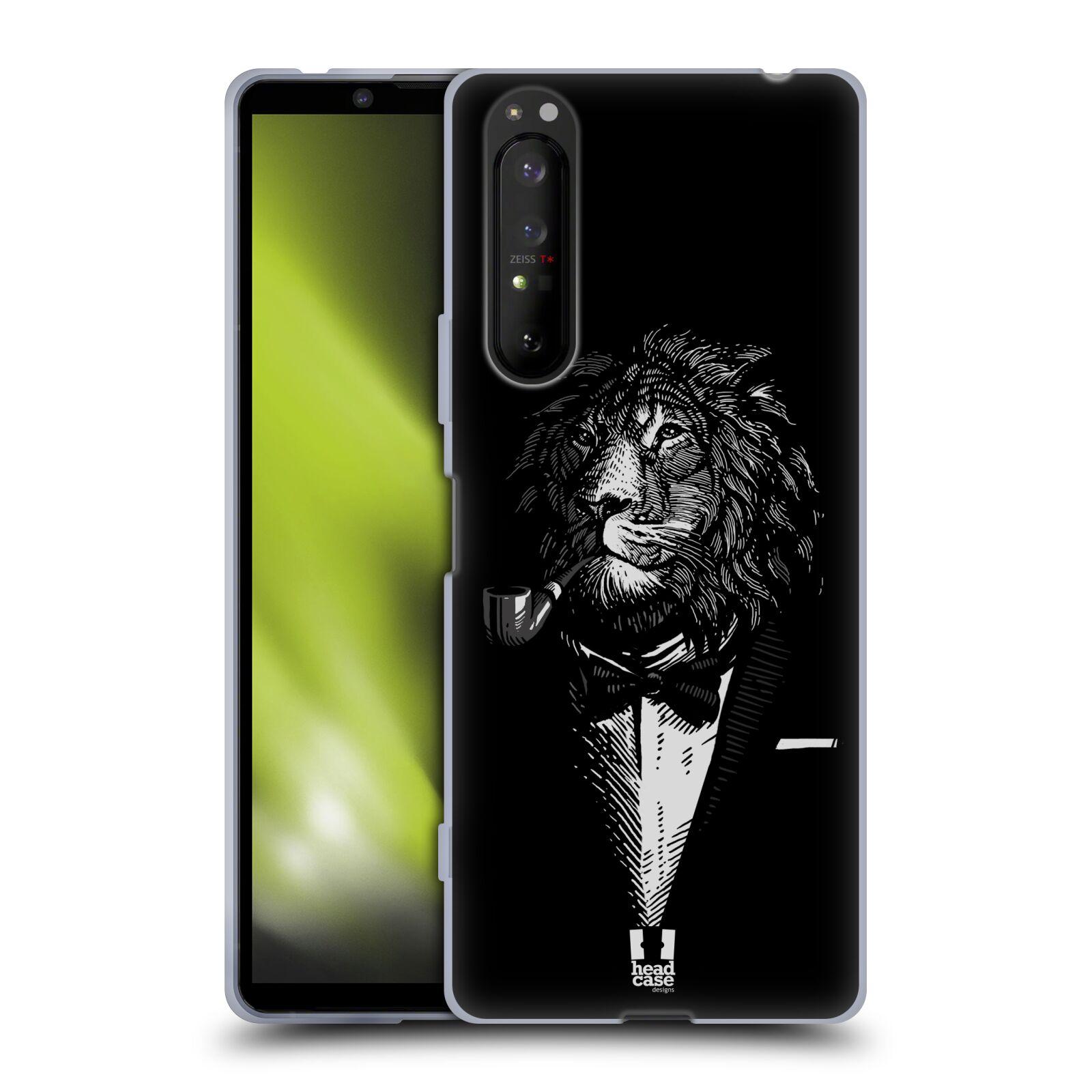 Silikonové pouzdro na mobil Sony Xperia 1 II - Head Case - LEV V KVÁDRU