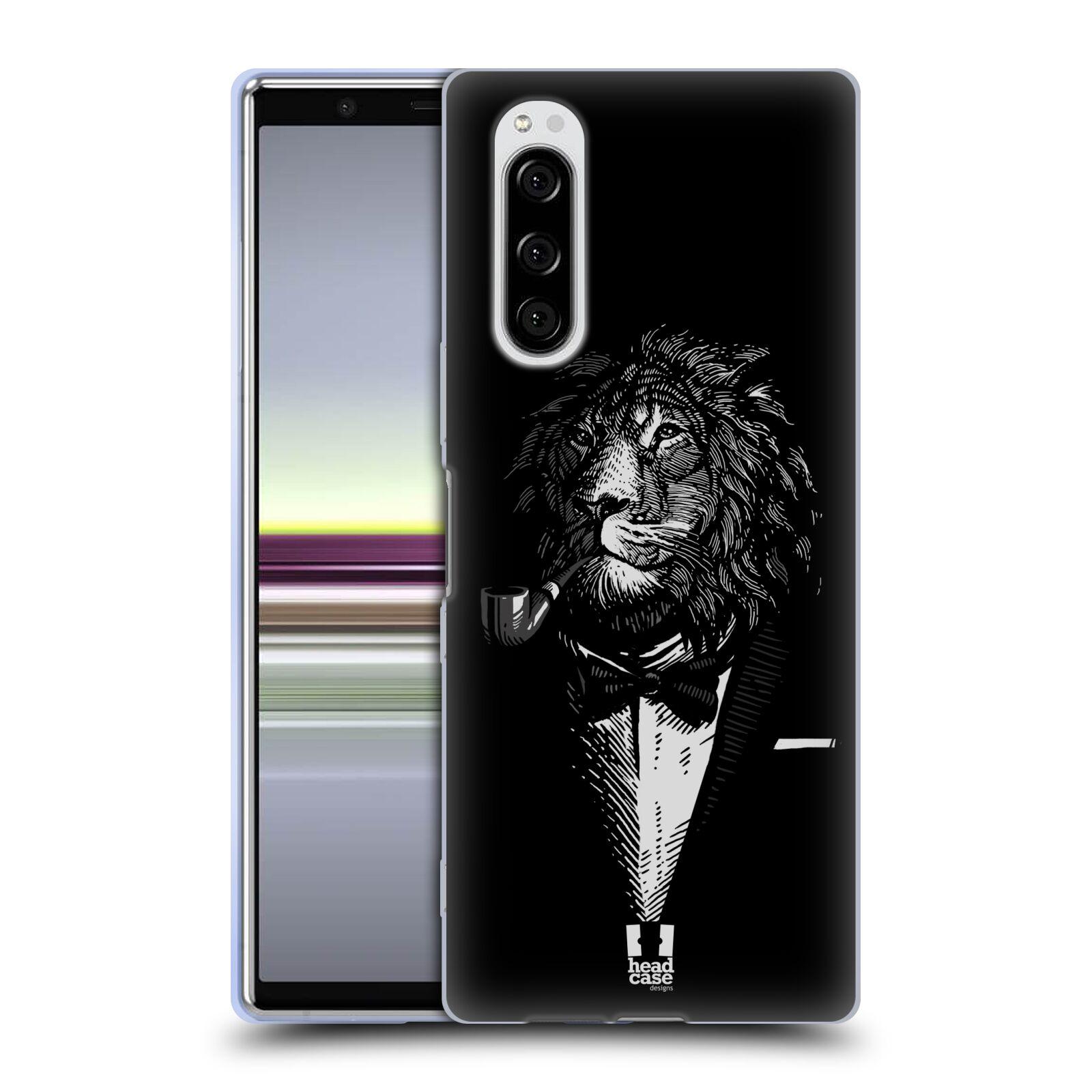 Silikonové pouzdro na mobil Sony Xperia 5 - Head Case - LEV V KVÁDRU