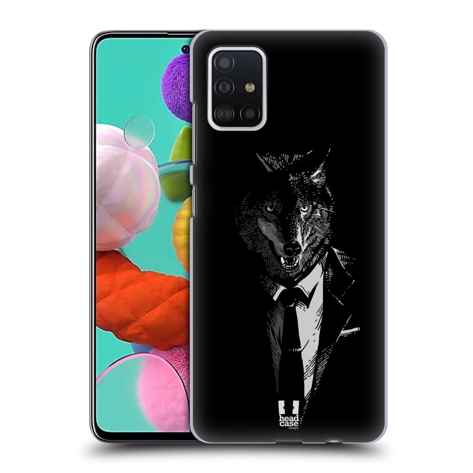 Plastové pouzdro na mobil Samsung Galaxy A51 - Head Case - VLK V KVÁDRU