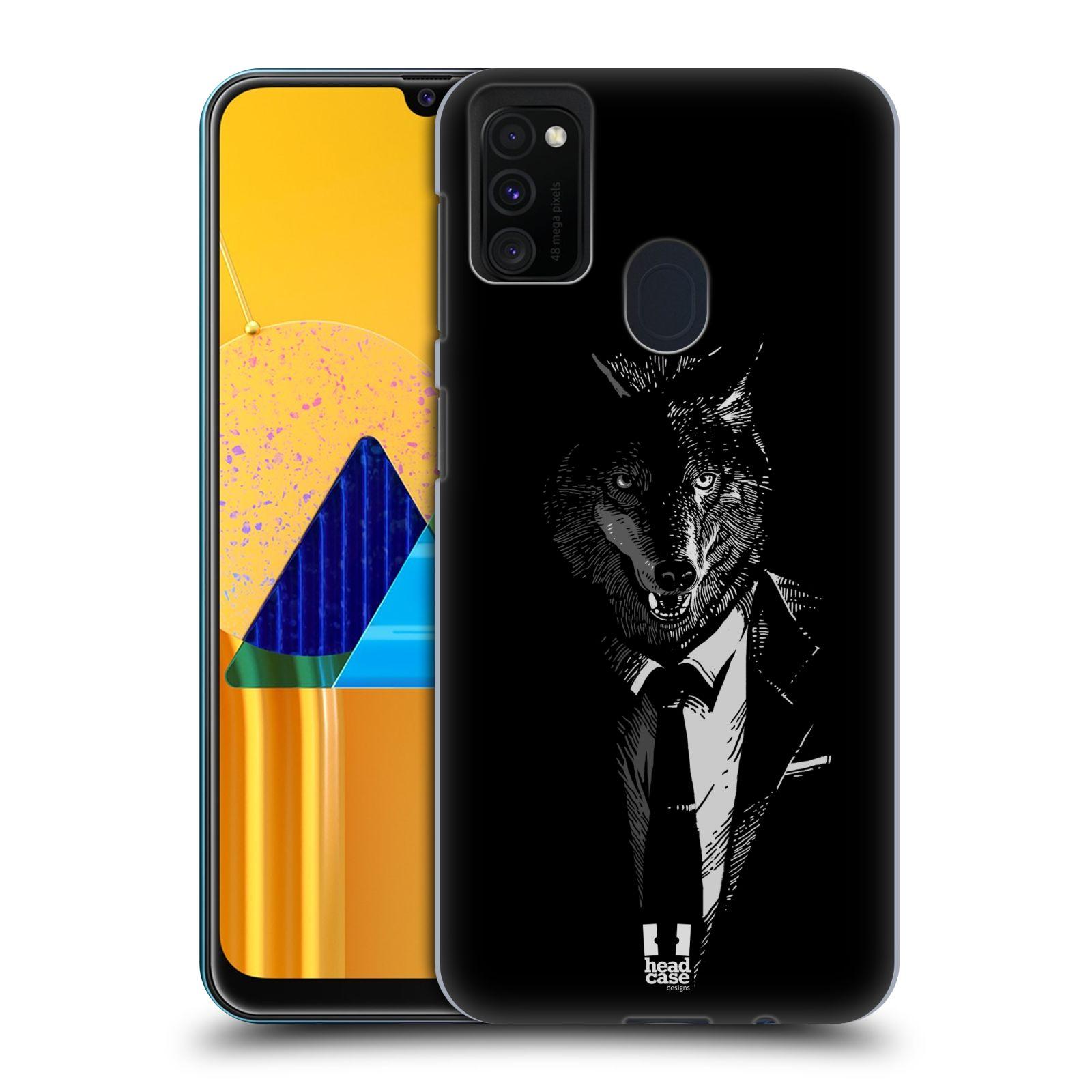 Plastové pouzdro na mobil Samsung Galaxy M21 - Head Case - VLK V KVÁDRU