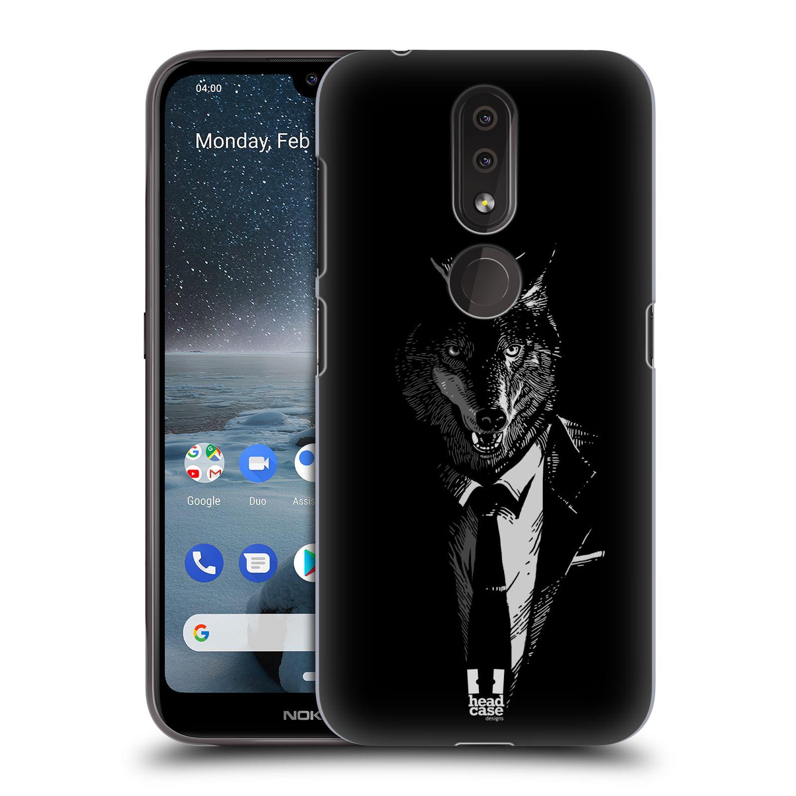 Plastové pouzdro na mobil Nokia 4.2 - Head Case - VLK V KVÁDRU