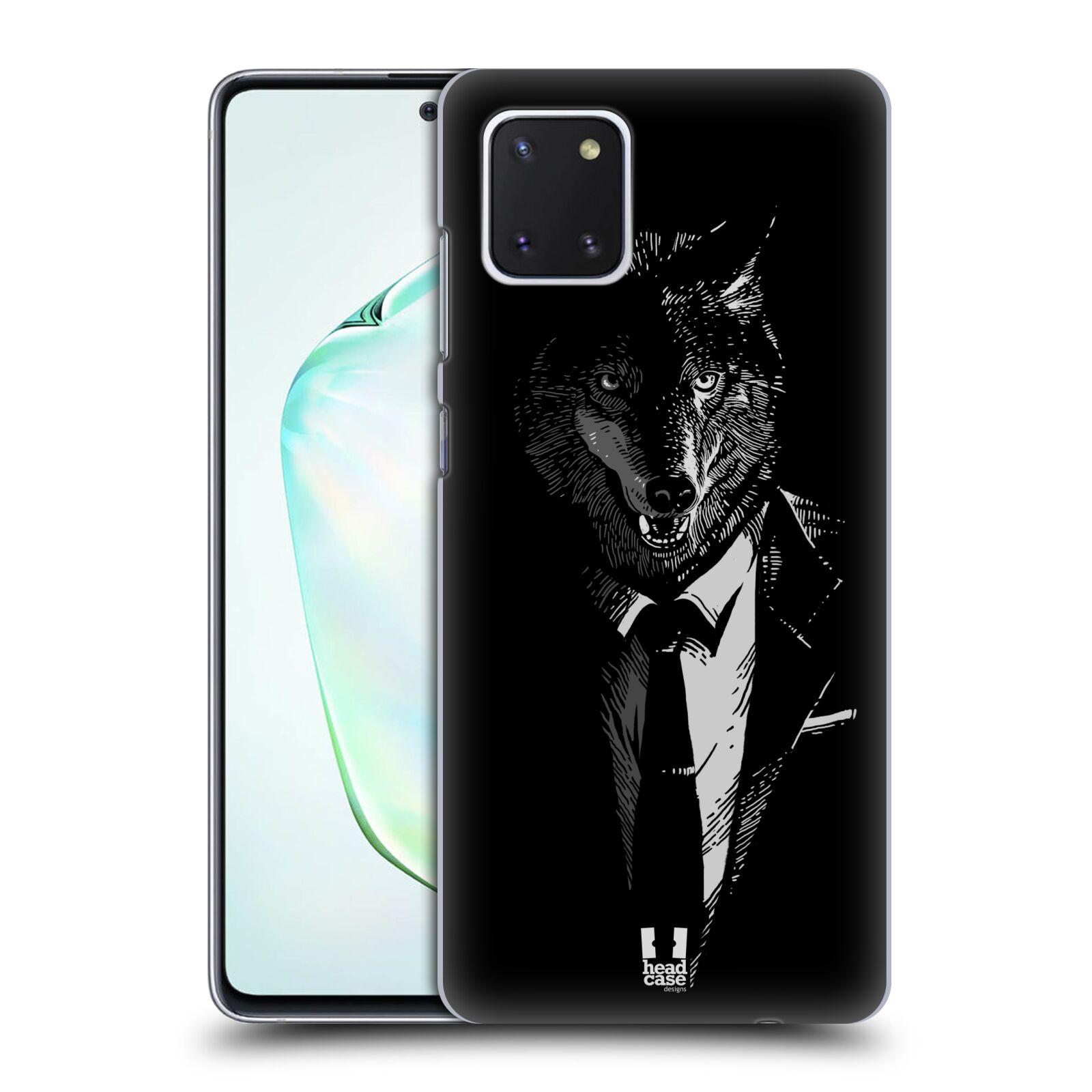Plastové pouzdro na mobil Samsung Galaxy Note 10 Lite - Head Case - VLK V KVÁDRU