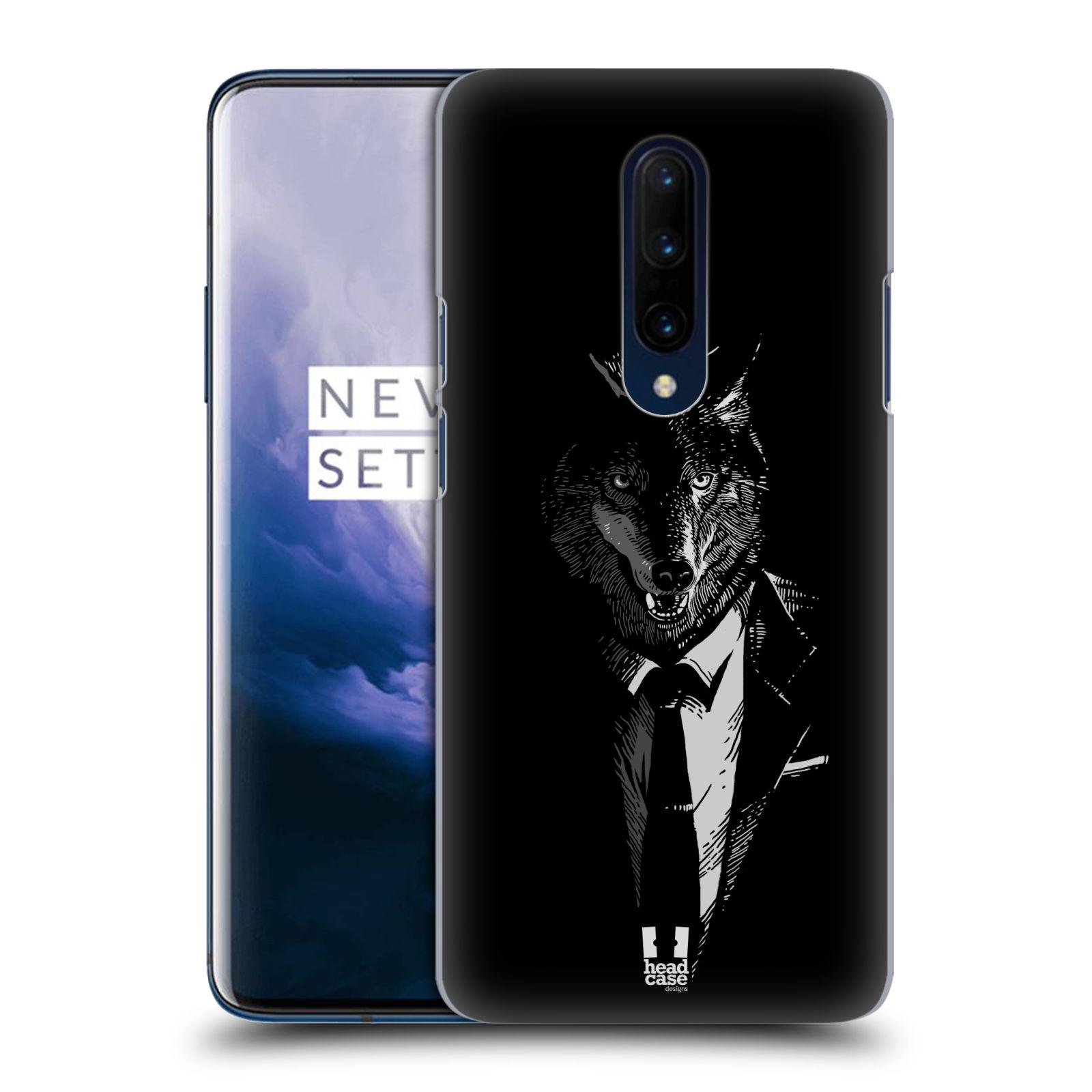 Plastové pouzdro na mobil OnePlus 7 Pro - Head Case - VLK V KVÁDRU