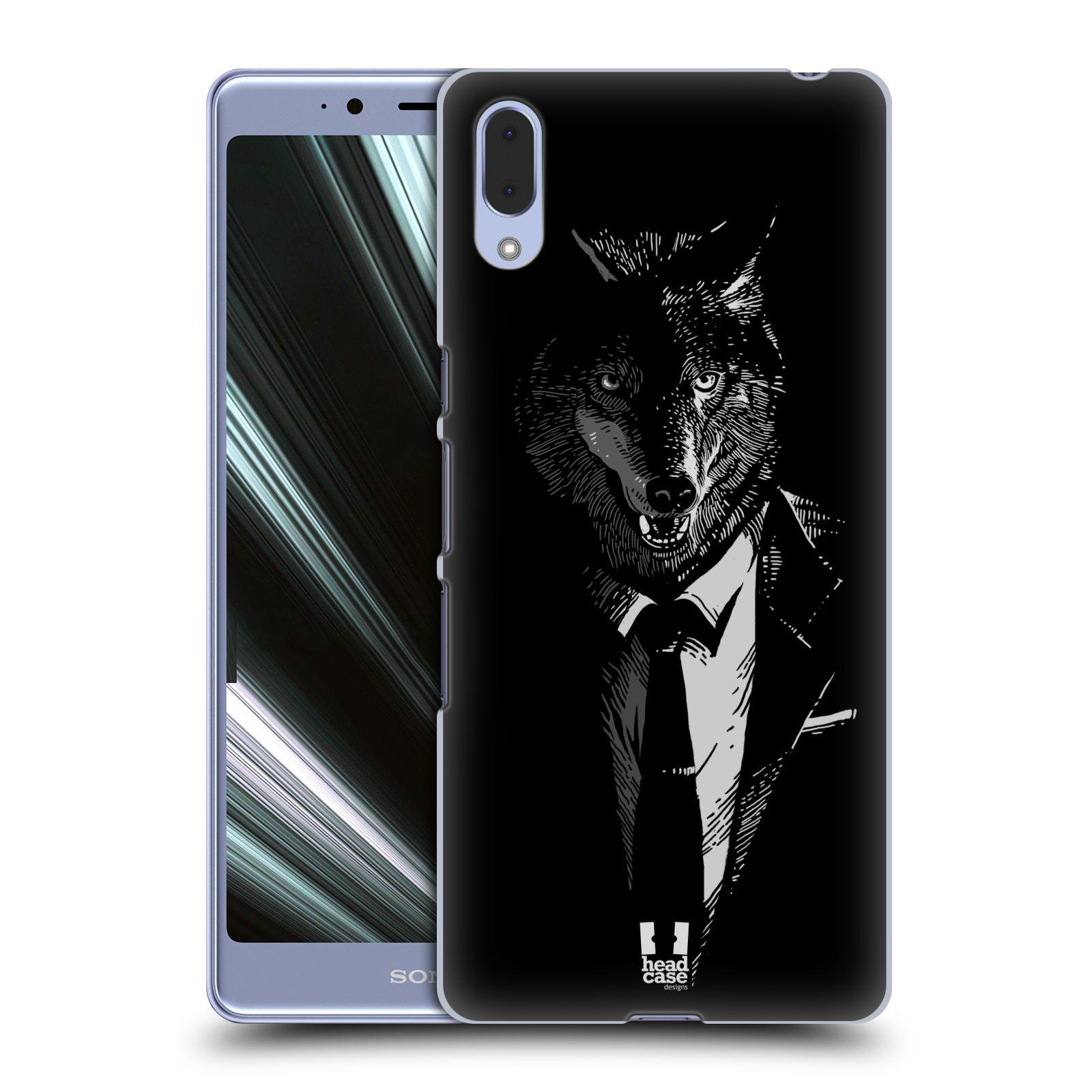 Plastové pouzdro na mobil Sony Xperia L3 - Head Case - VLK V KVÁDRU