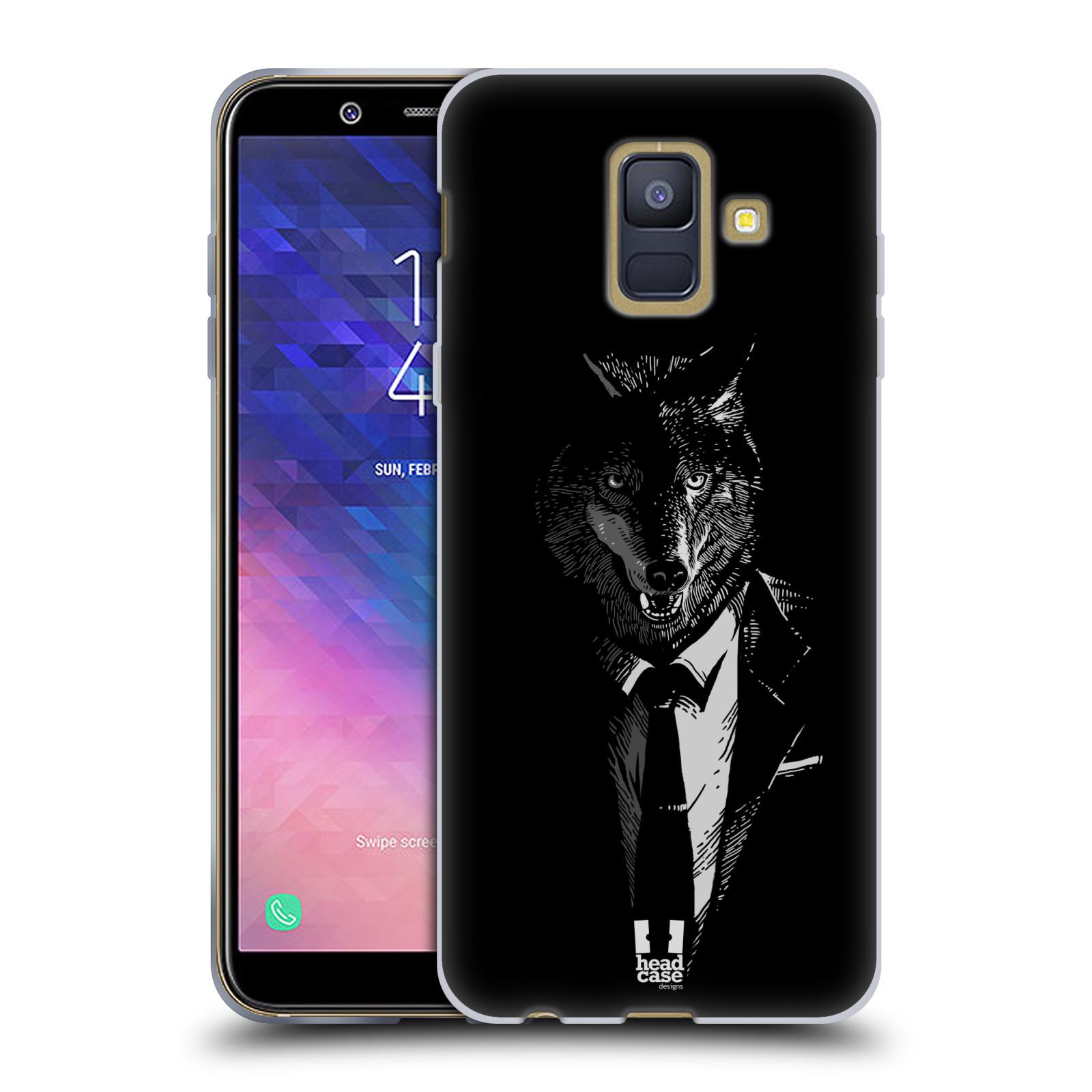 Silikonové pouzdro na mobil Samsung Galaxy A6 (2018) - Head Case - VLK V KVÁDRU