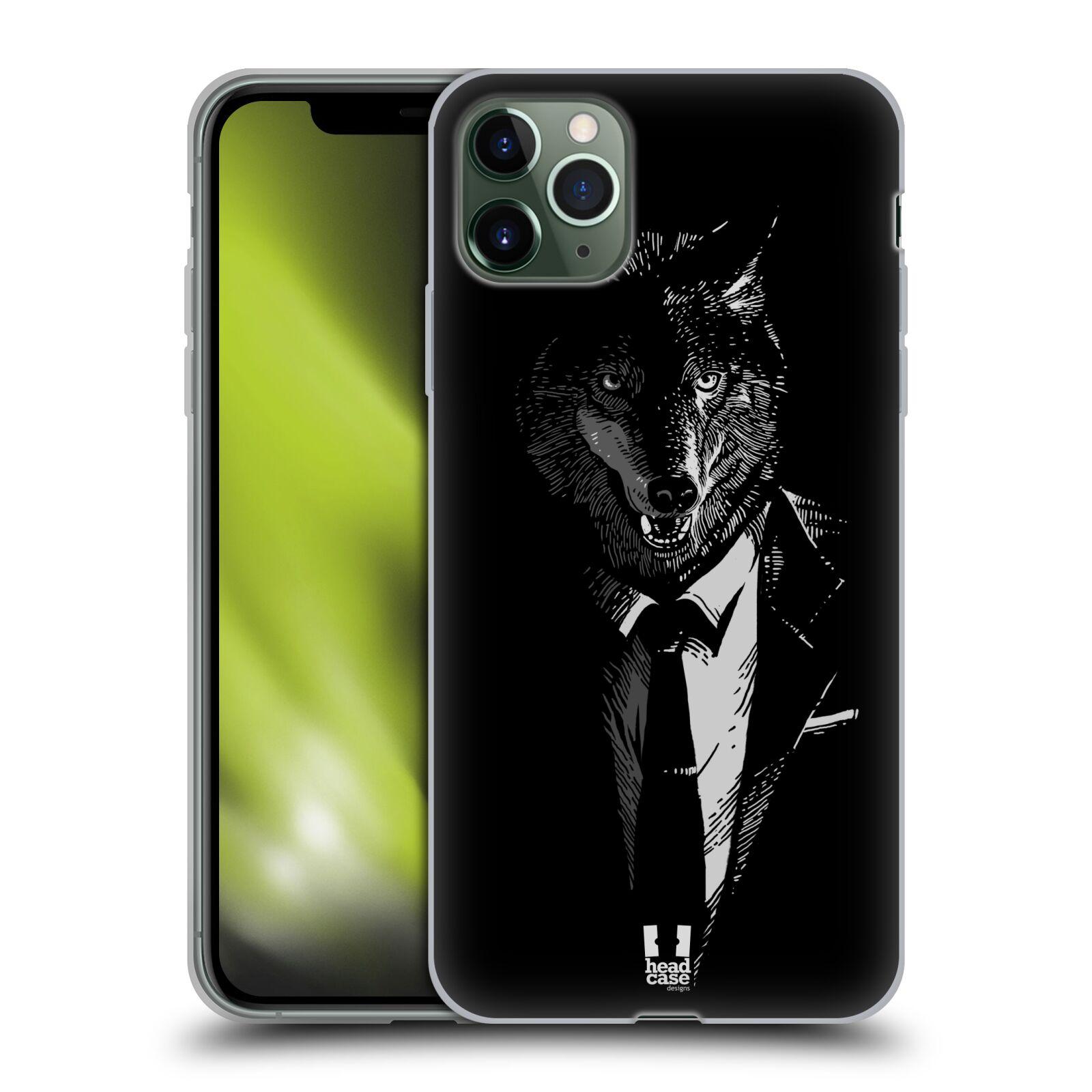 Silikonové pouzdro na mobil Apple iPhone 11 Pro Max - Head Case - VLK V KVÁDRU