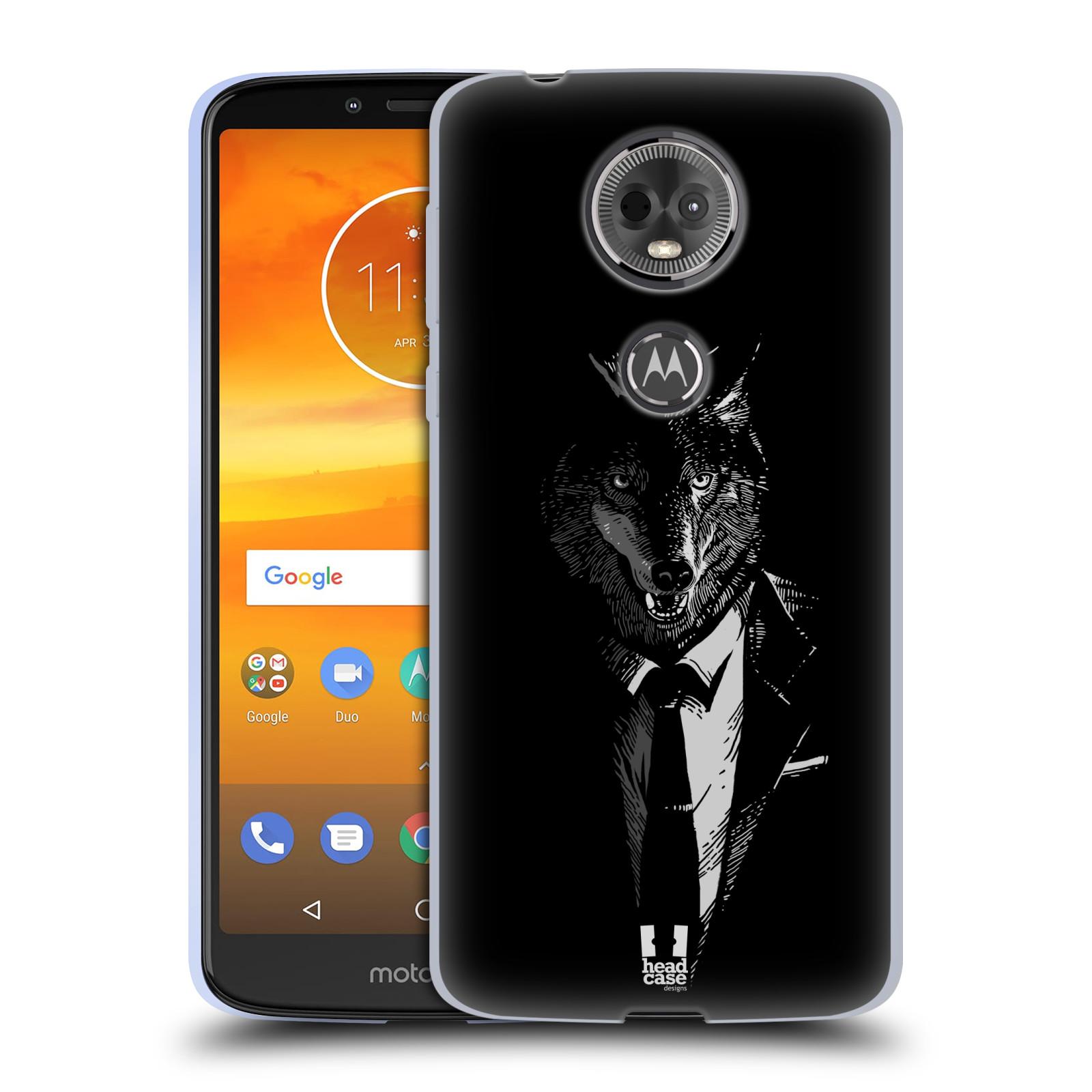 Silikonové pouzdro na mobil Motorola Moto E5 Plus - Head Case - VLK V KVÁDRU