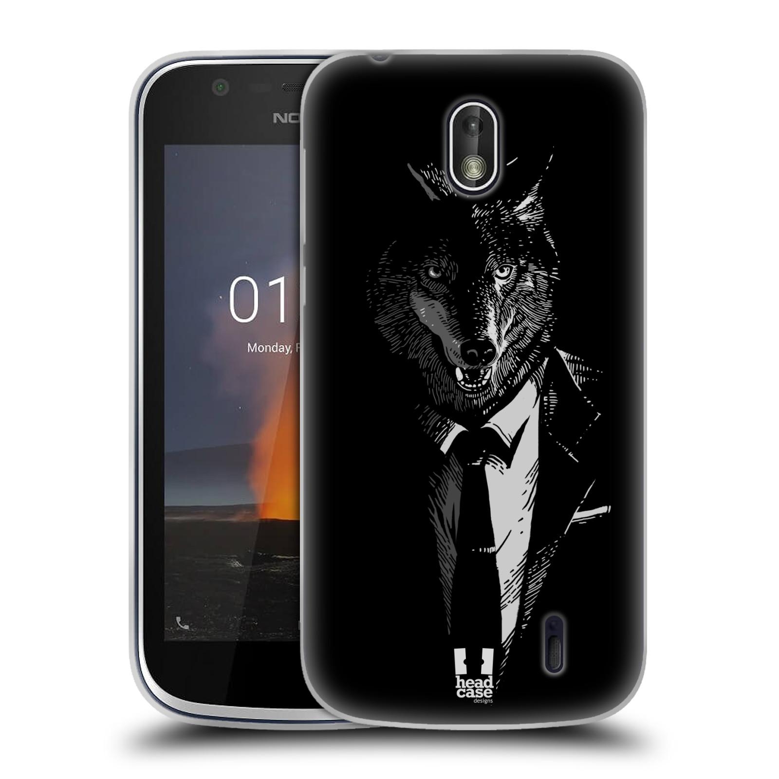 Silikonové pouzdro na mobil Nokia 1 - Head Case - VLK V KVÁDRU