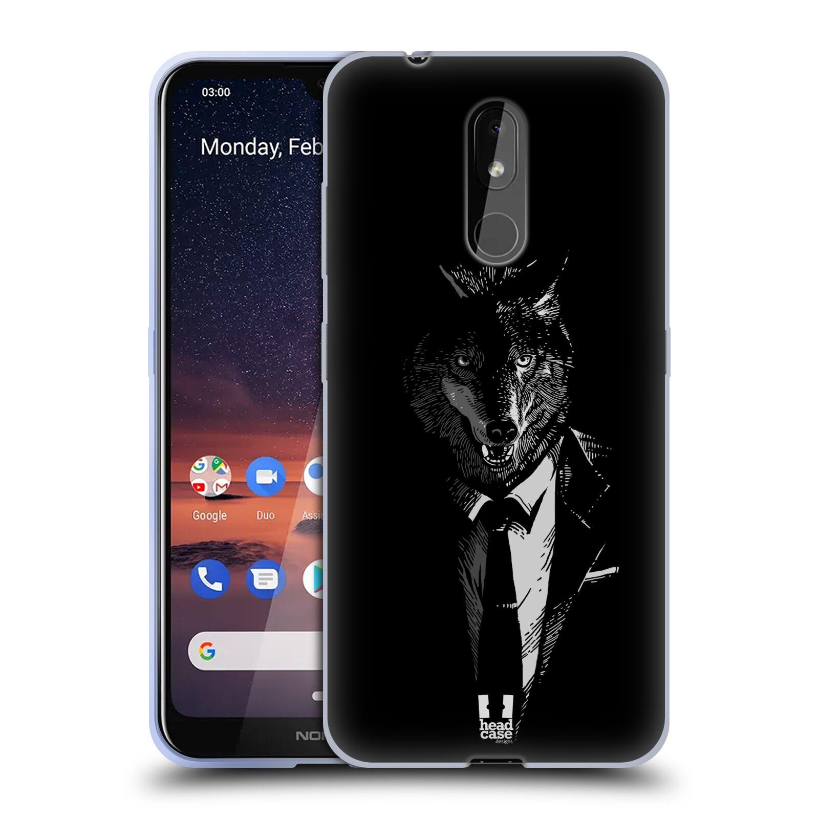 Silikonové pouzdro na mobil Nokia 3.2 - Head Case - VLK V KVÁDRU