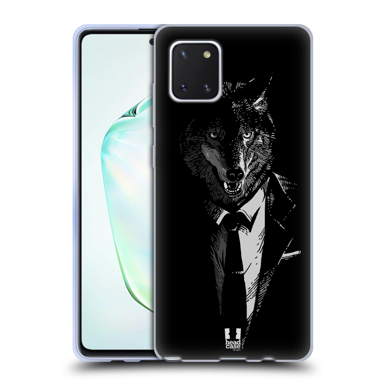 Silikonové pouzdro na mobil Samsung Galaxy Note 10 Lite - Head Case - VLK V KVÁDRU