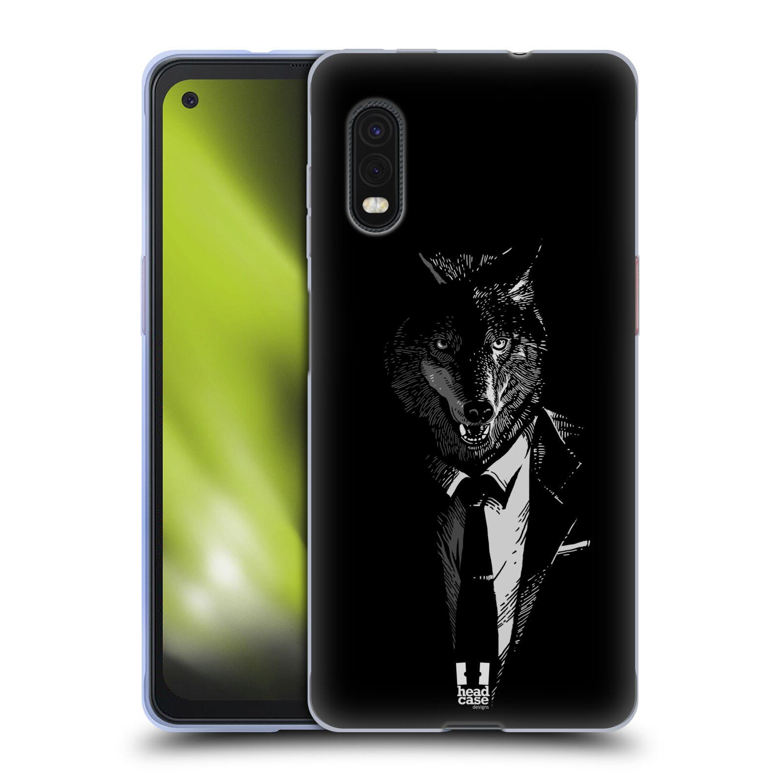 Silikonové pouzdro na mobil Samsung Galaxy Xcover Pro - Head Case - VLK V KVÁDRU
