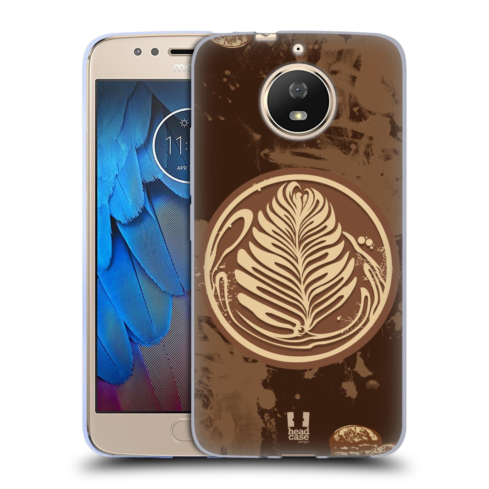 Silikonové pouzdro na mobil Lenovo Moto G5s - Head Case - Coffee Art