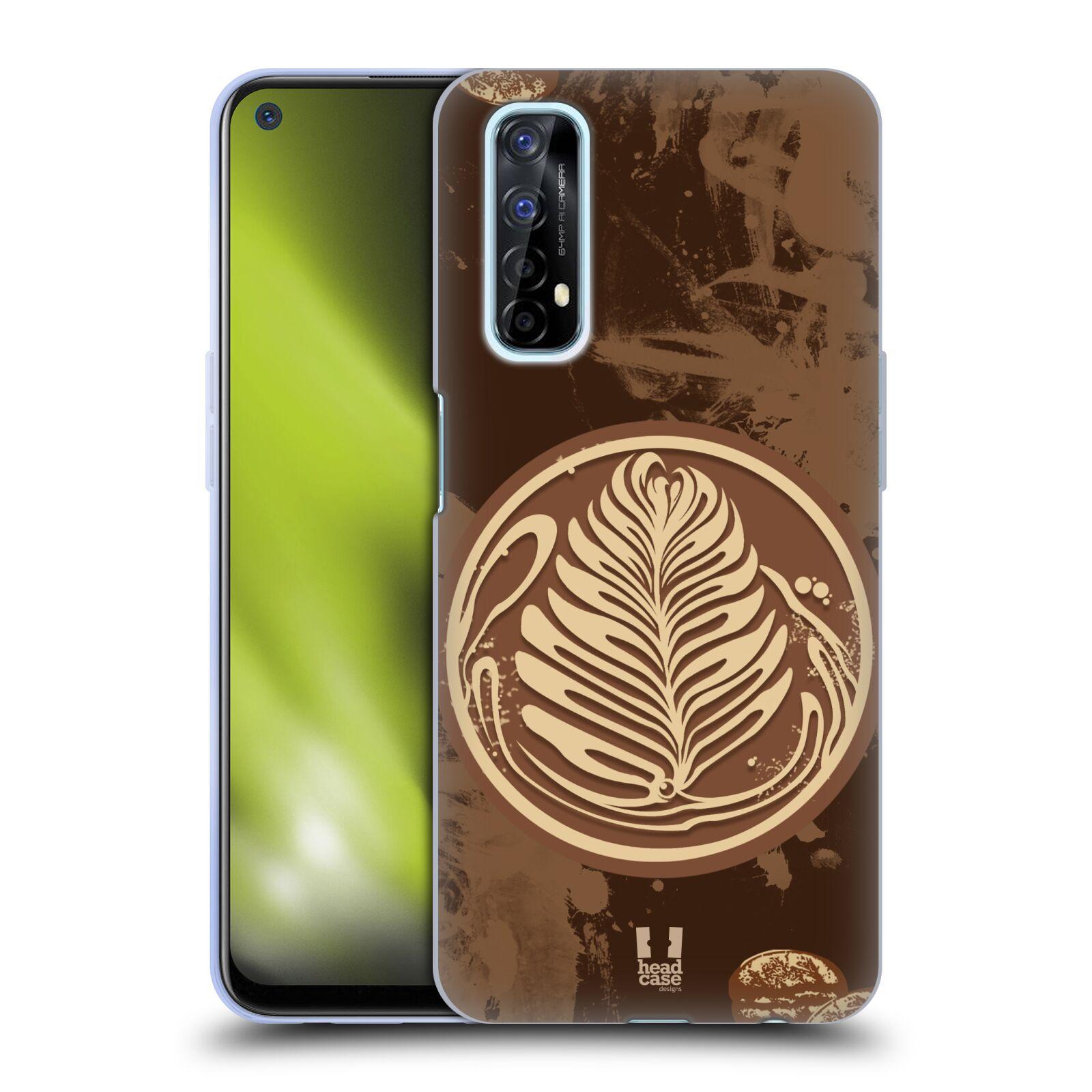 Silikonové pouzdro na mobil Realme 7 - Head Case - Coffee Art