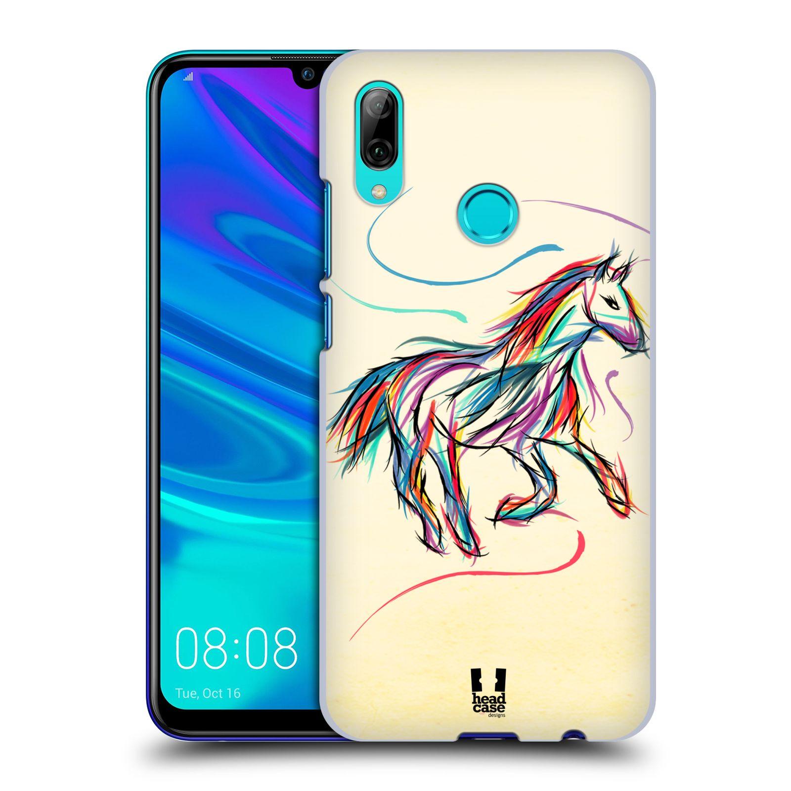 Plastové pouzdro na mobil Honor 10 Lite - Head Case - KONÍK BAREVNÝ