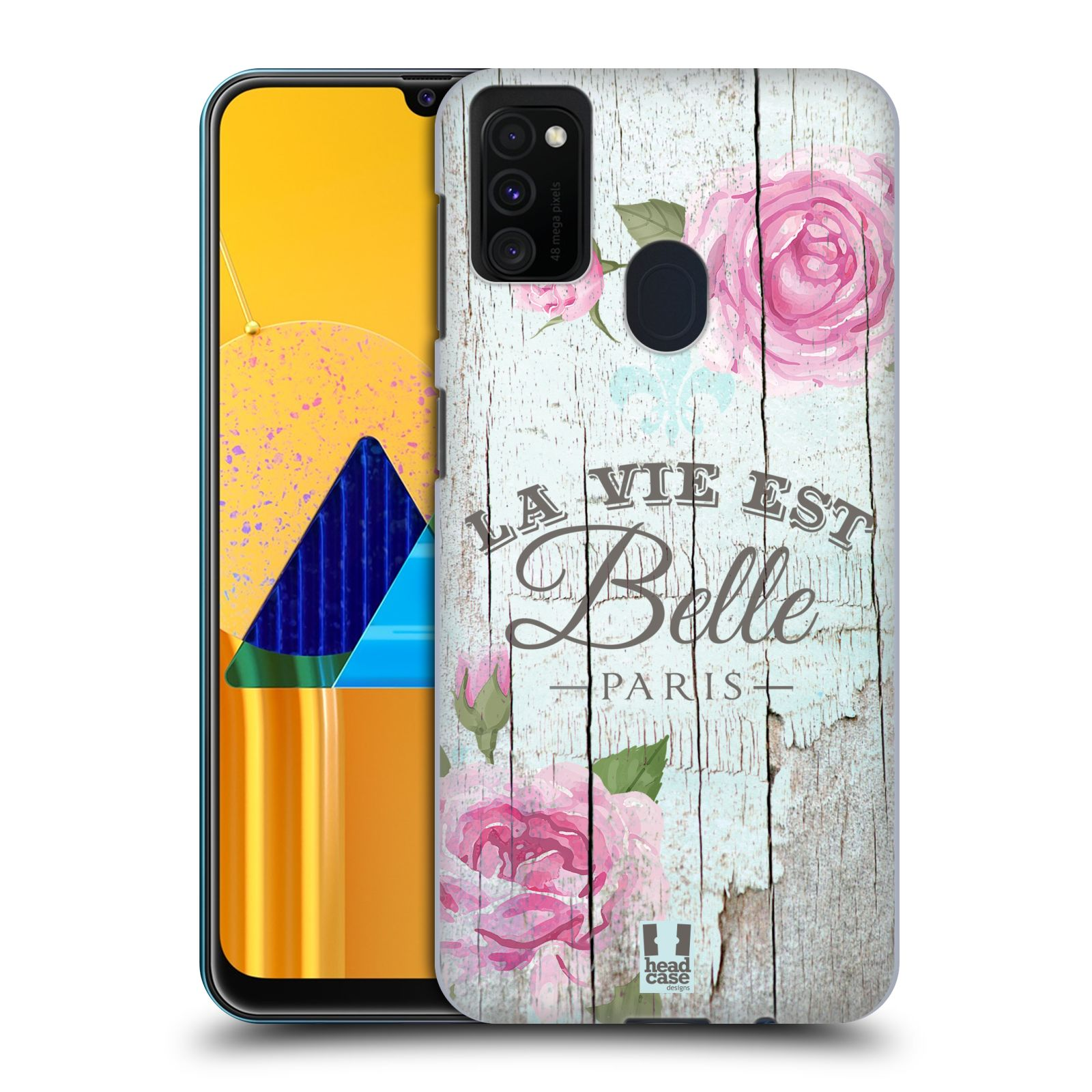Plastové pouzdro na mobil Samsung Galaxy M21 - Head Case - LIFE IN THE COUNTRY BELLE