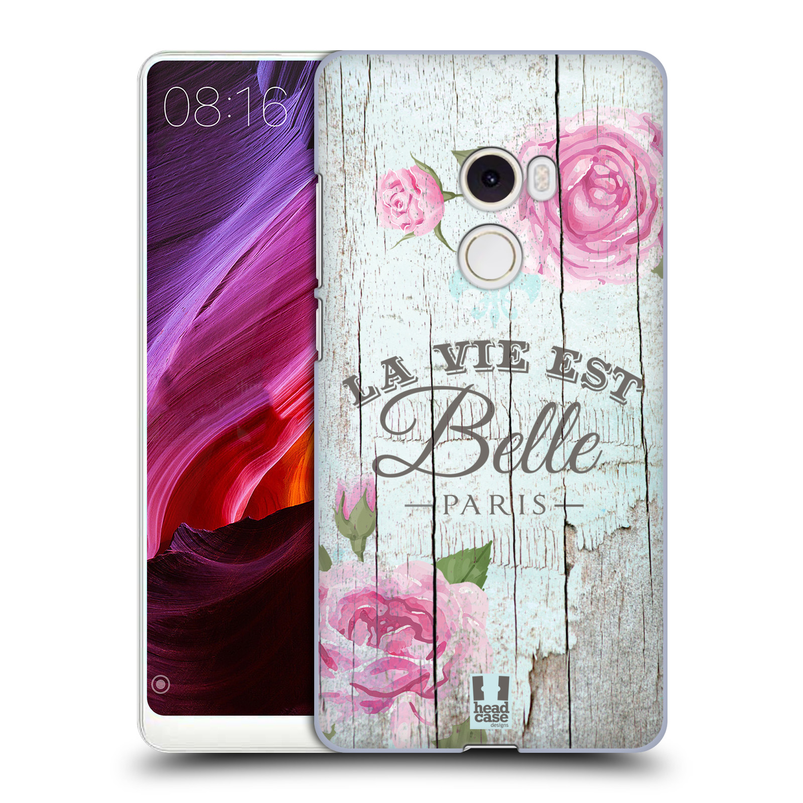 Plastové pouzdro na mobil Xiaomi Mi Mix 2 - Head Case - LIFE IN THE COUNTRY BELLE