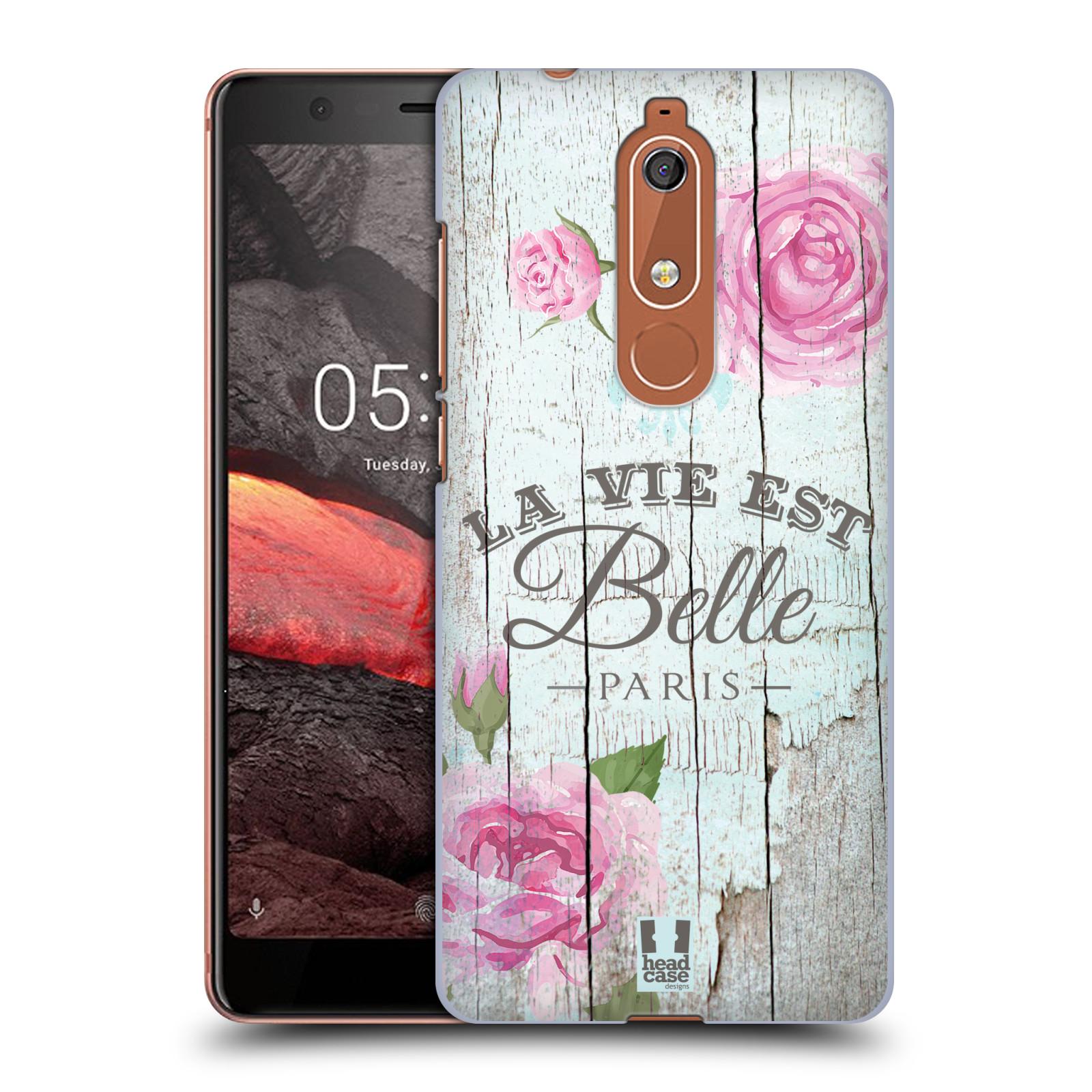 Plastové pouzdro na mobil Nokia 5.1 - Head Case - LIFE IN THE COUNTRY BELLE