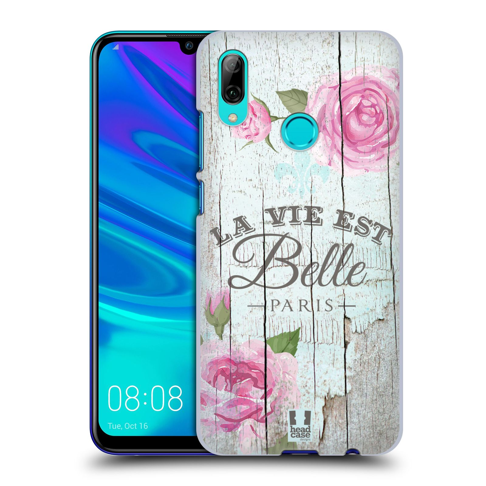 Plastové pouzdro na mobil Huawei P Smart (2019) - Head Case - LIFE IN THE COUNTRY BELLE