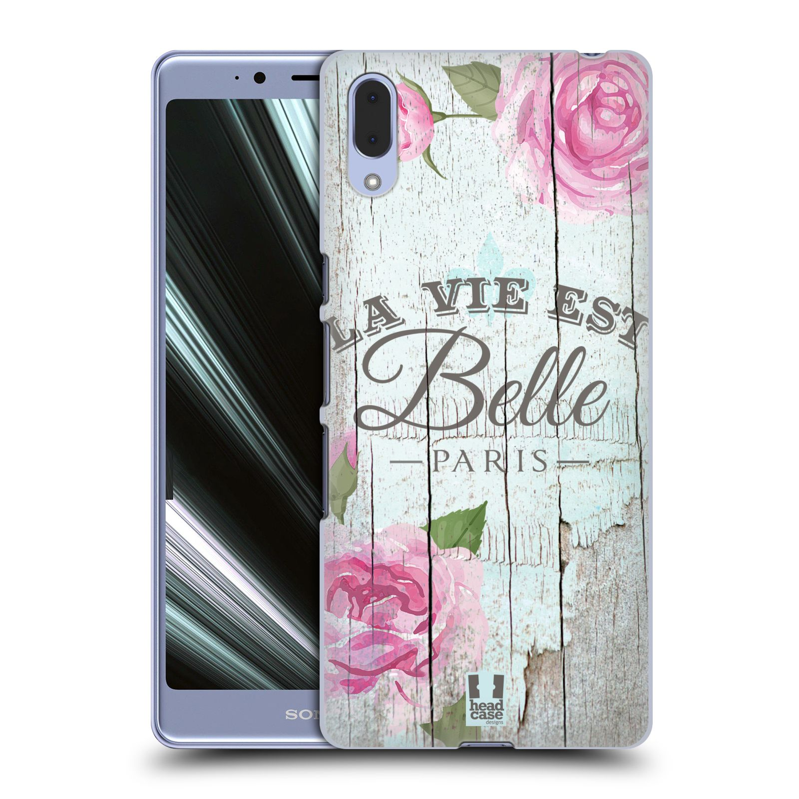 Plastové pouzdro na mobil Sony Xperia L3 - Head Case - LIFE IN THE COUNTRY BELLE
